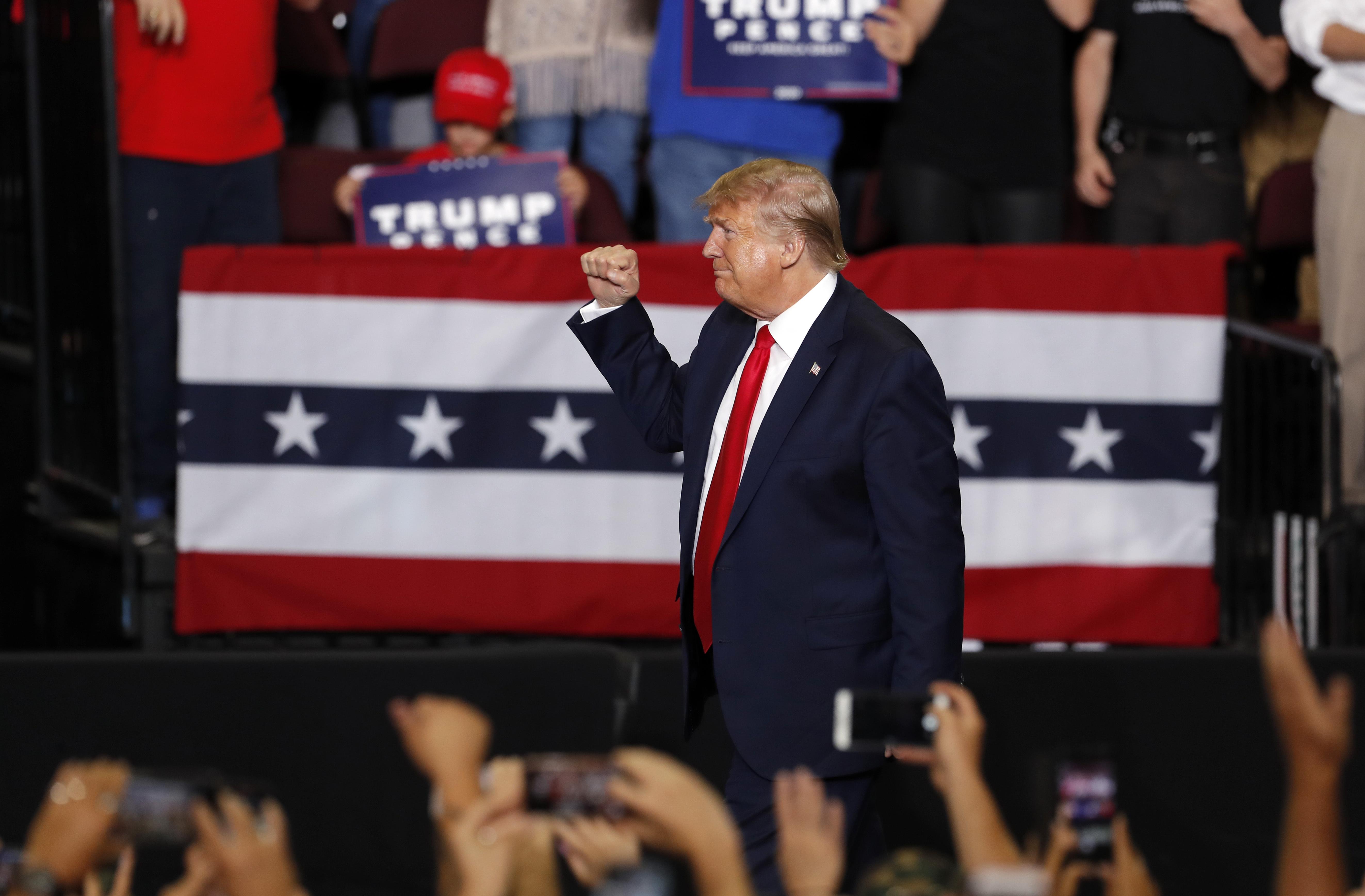 Trump campaign says delegate overhaul will ease 2020 bid