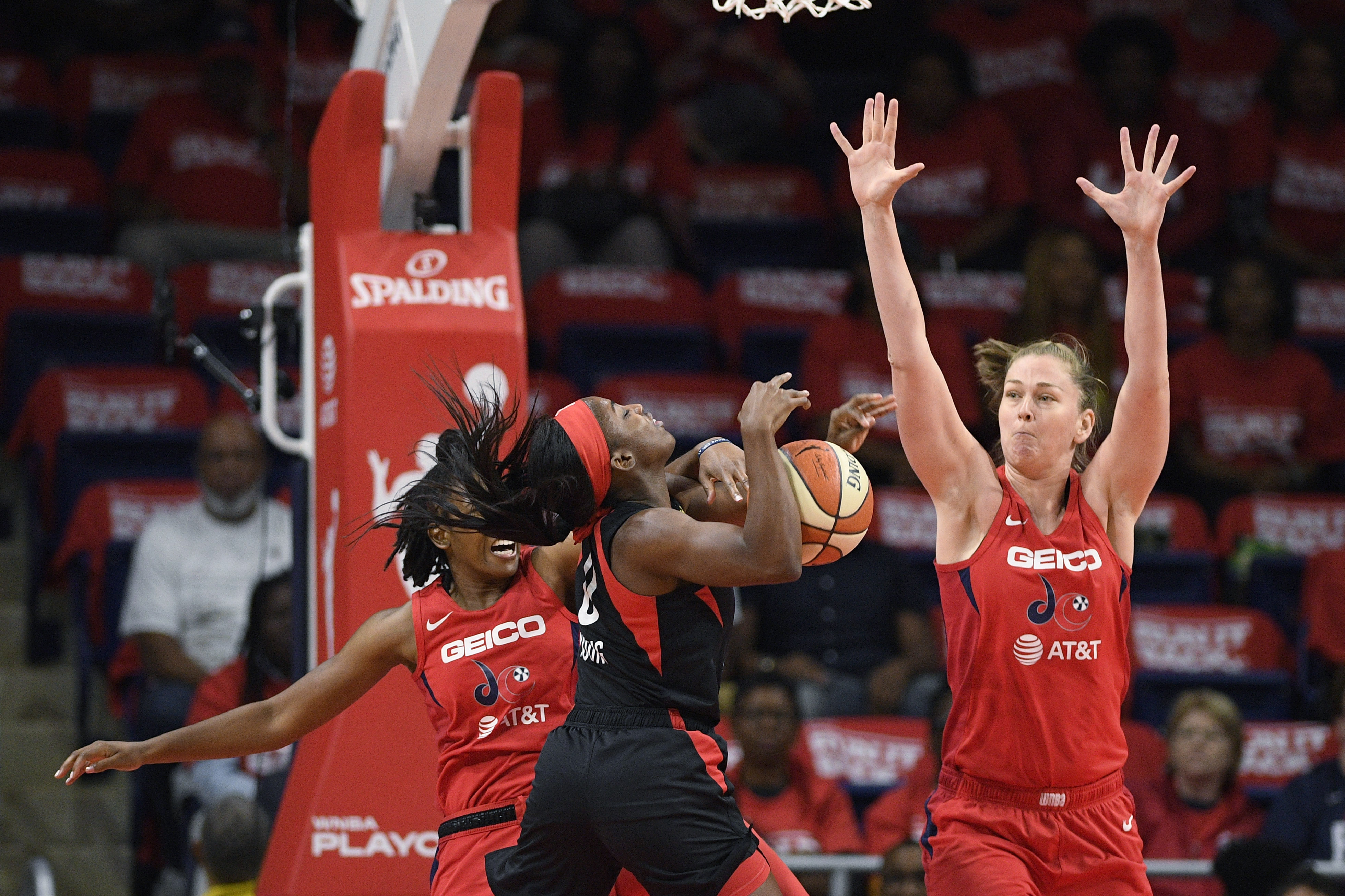 Emma Meesseman breaks out, Mystics eke out win in Game 1 of semifinals