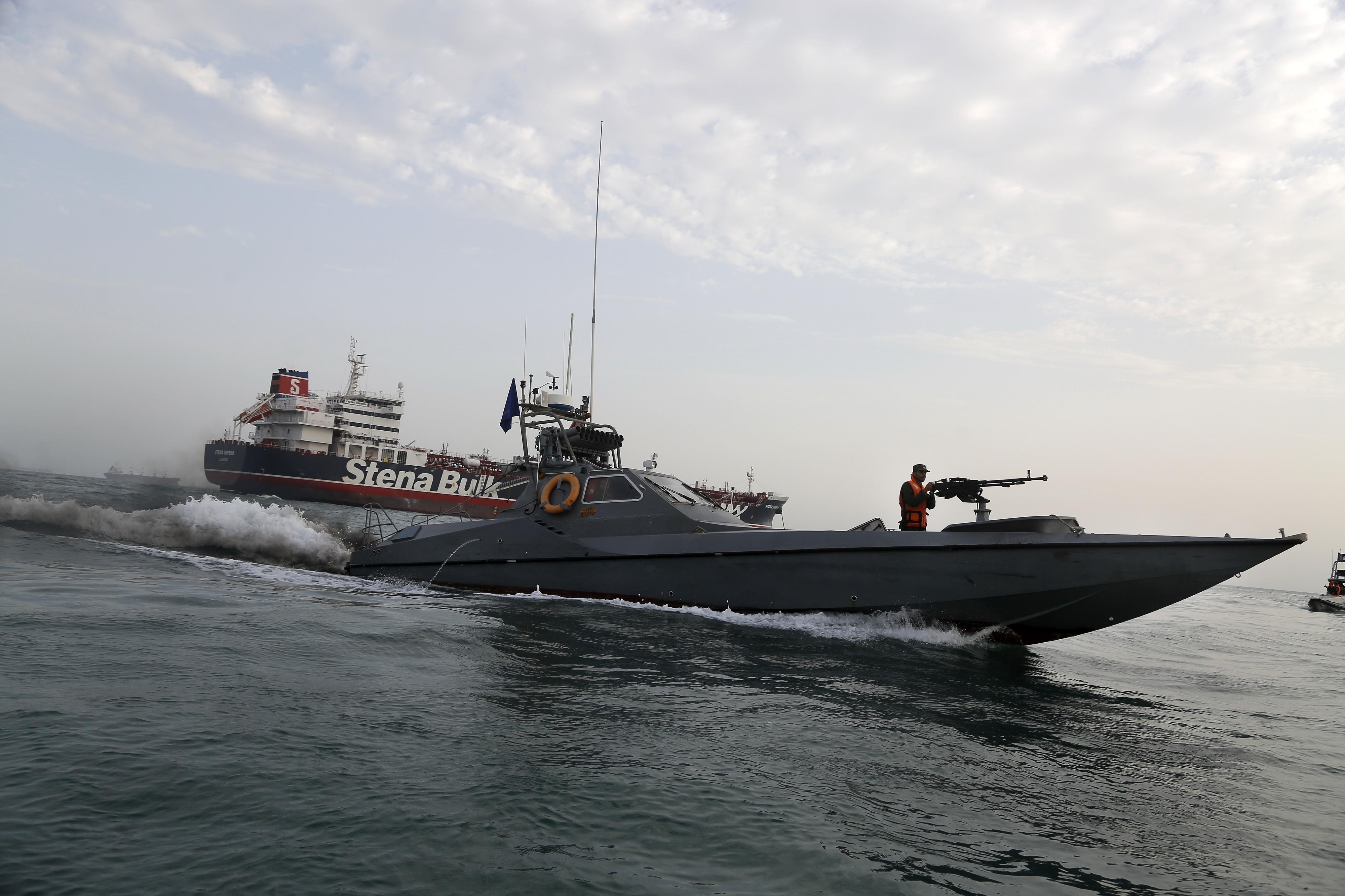 Iranians claim seized British tanker now free to sail