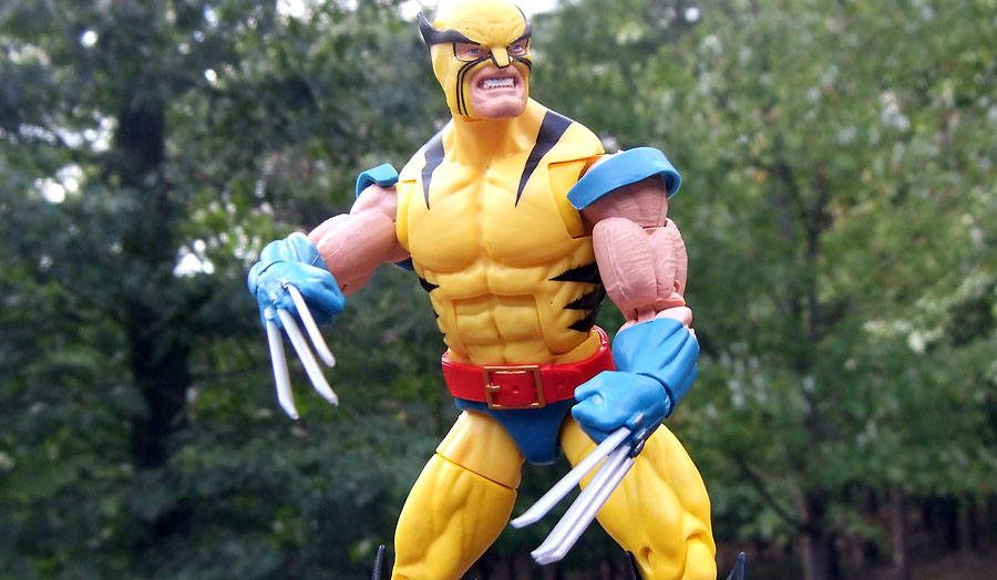 Ex... Marvel Legends 80th Anniversary Wolverine and Hulk 6-Inch Action Figures