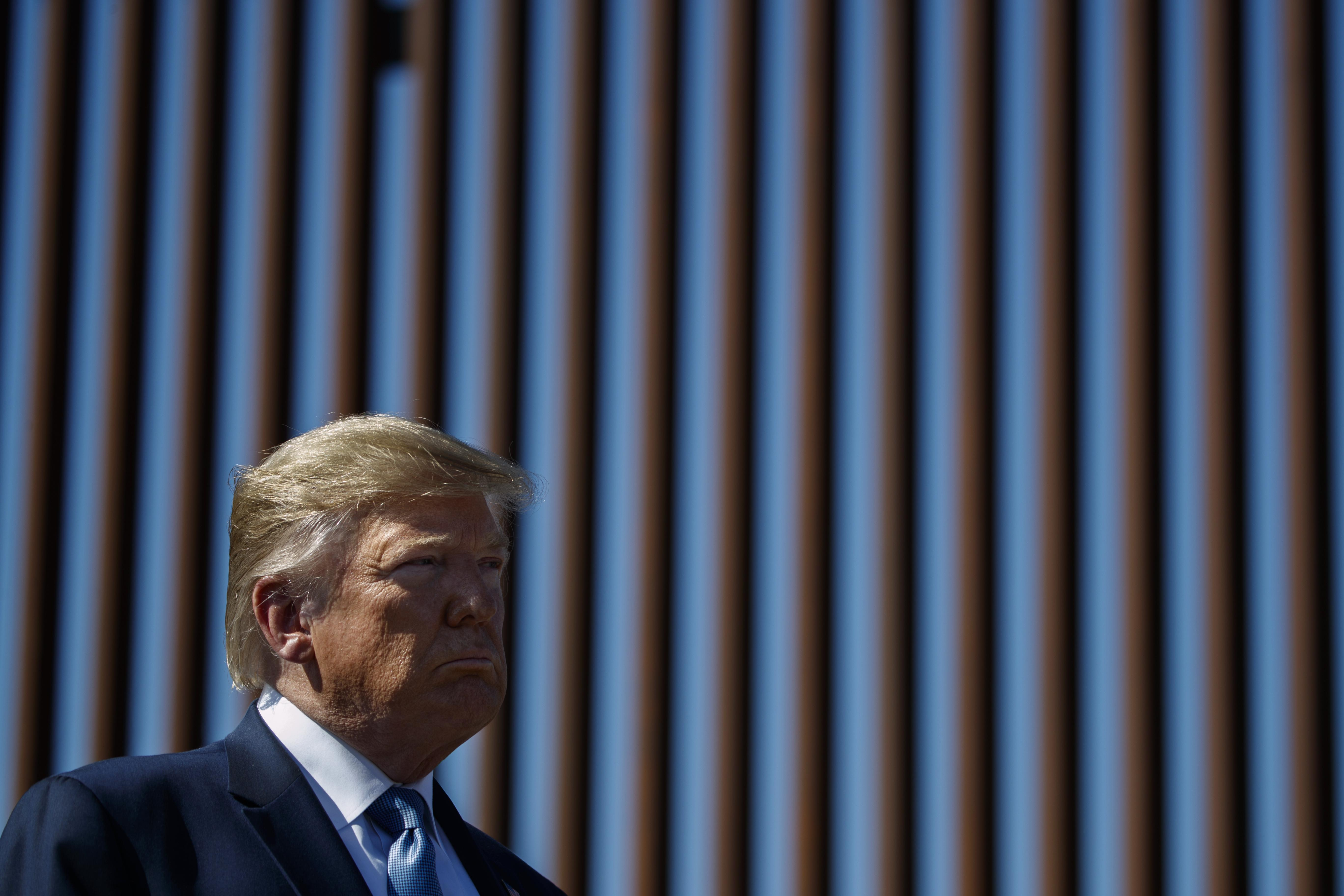 Hill Democrats vow to fight future budget raids for Trump border wall