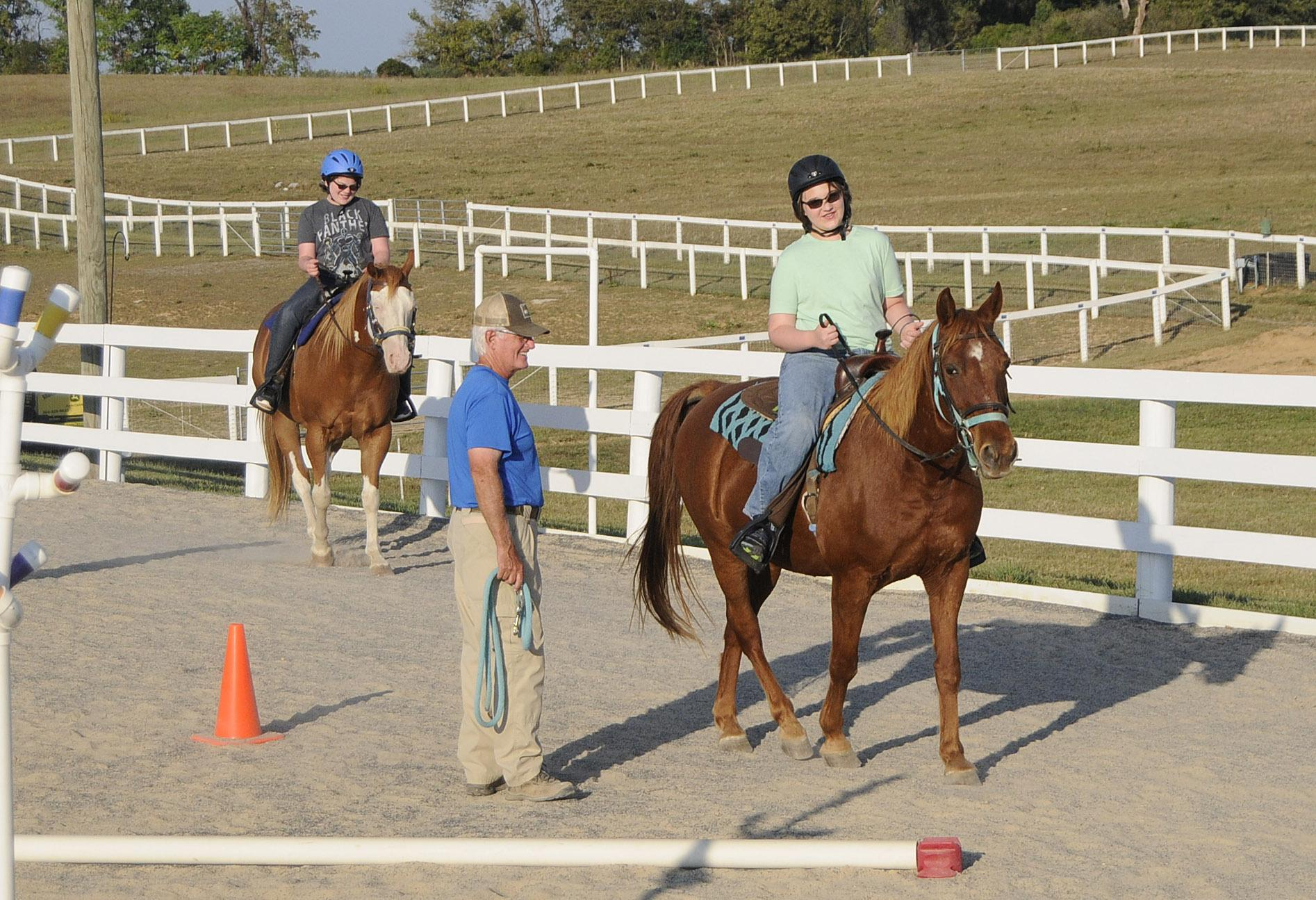 WV horse therapy program aids those with disabilities
