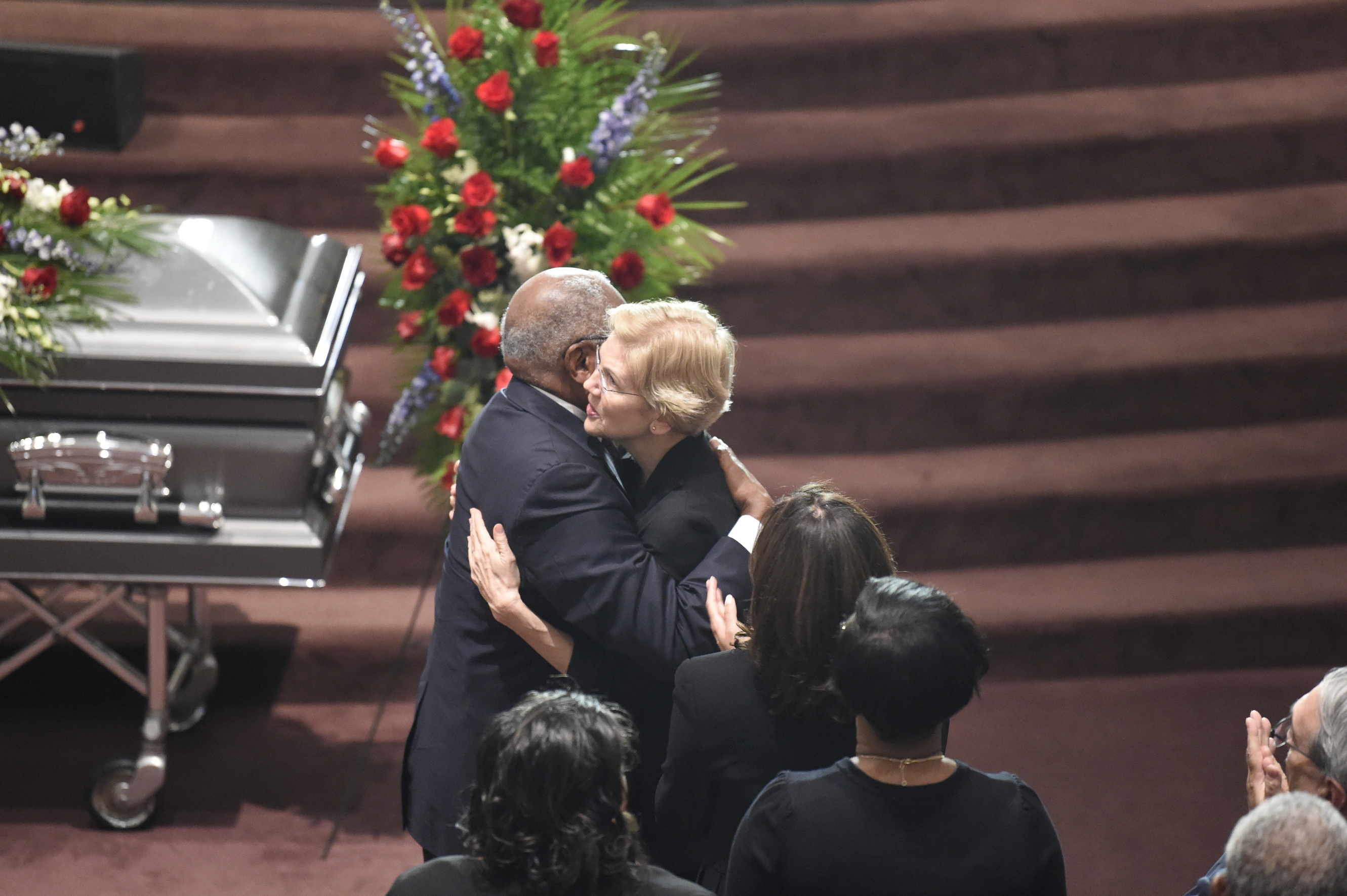 Funeral for Jim Clyburn's wife draws top Democrats, presidential contenders