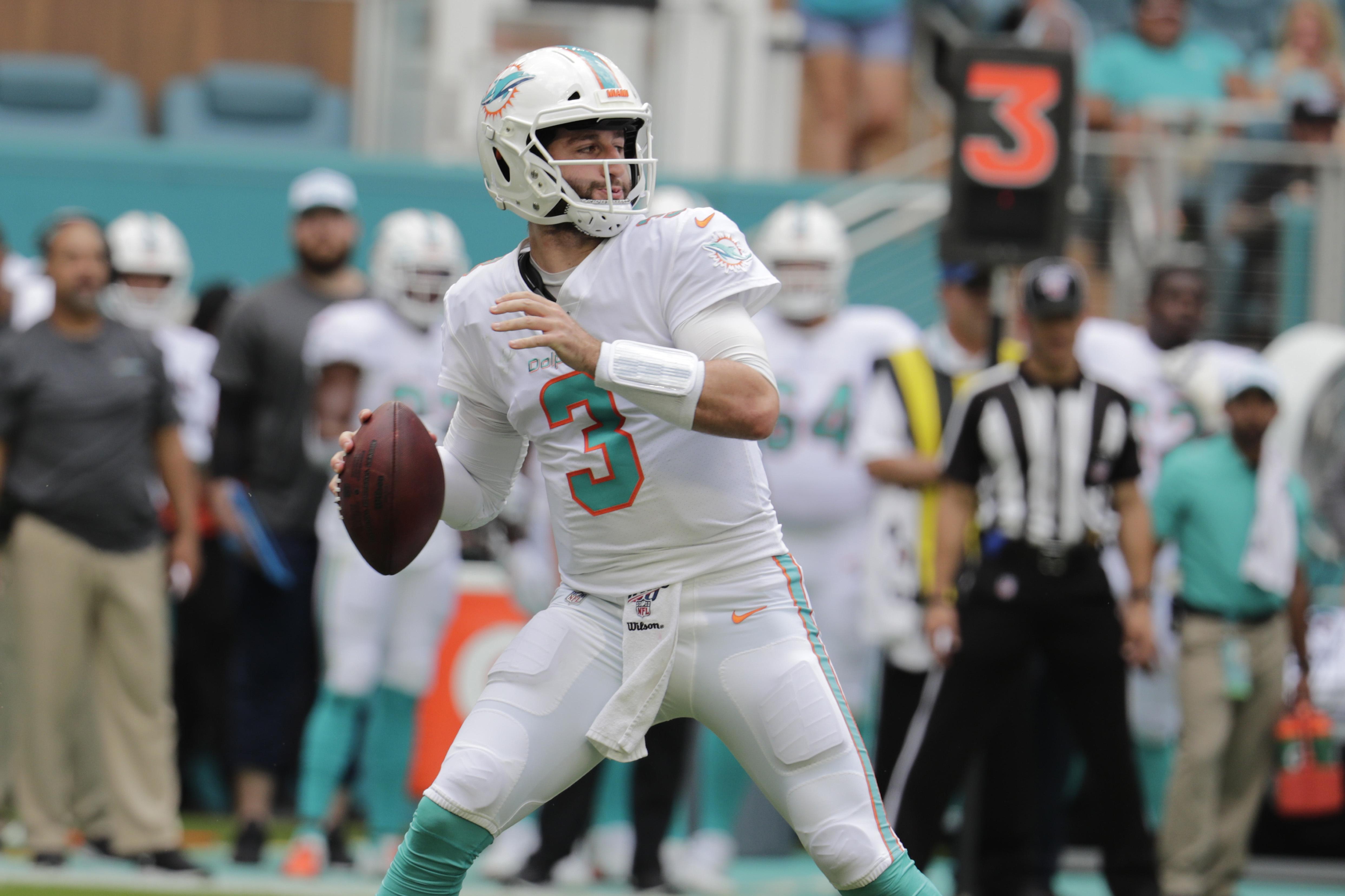 Franchise QB? Rosen will remain Dolphins' starter