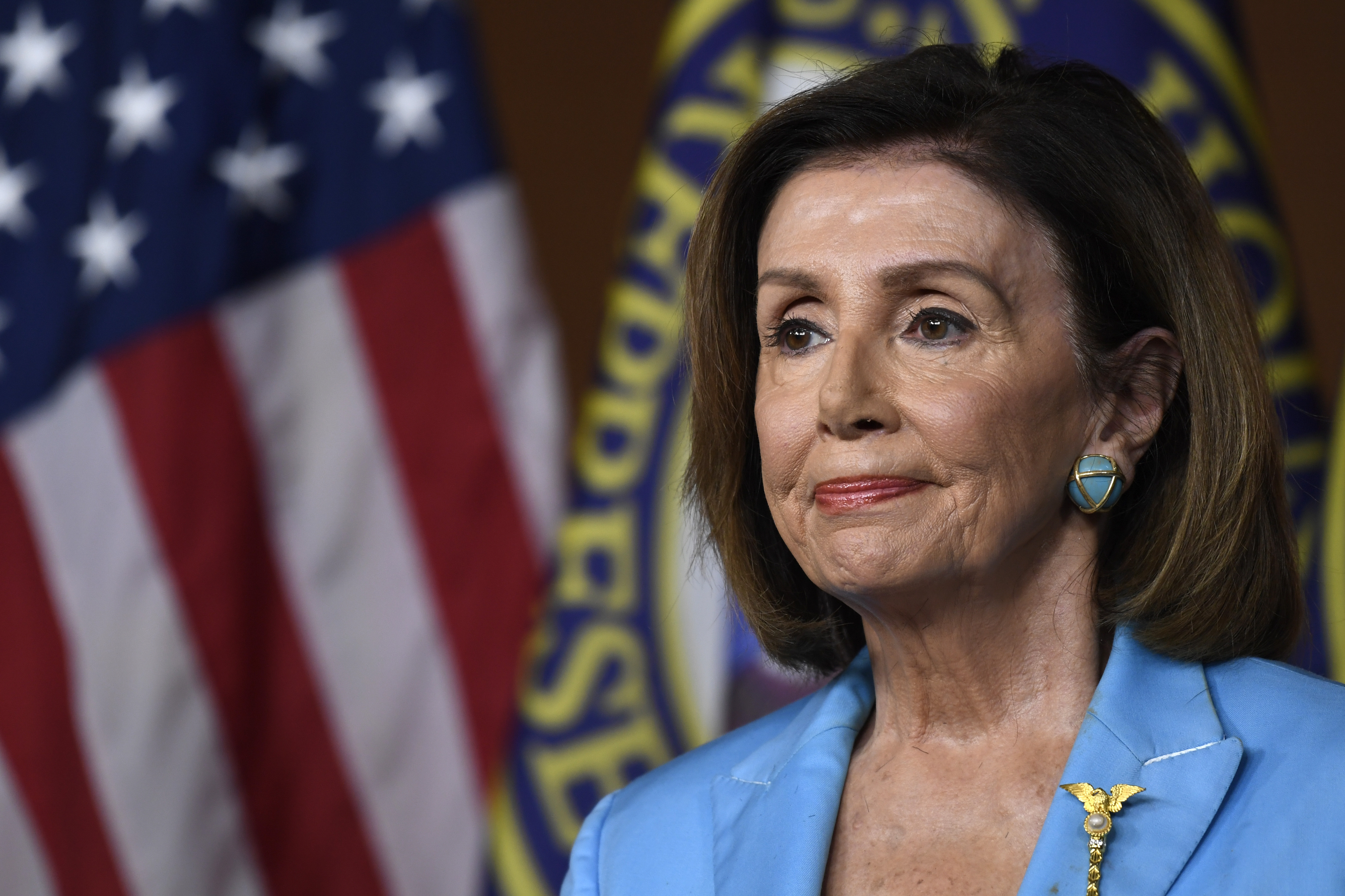 Nancy Pelosi pivots to gun control