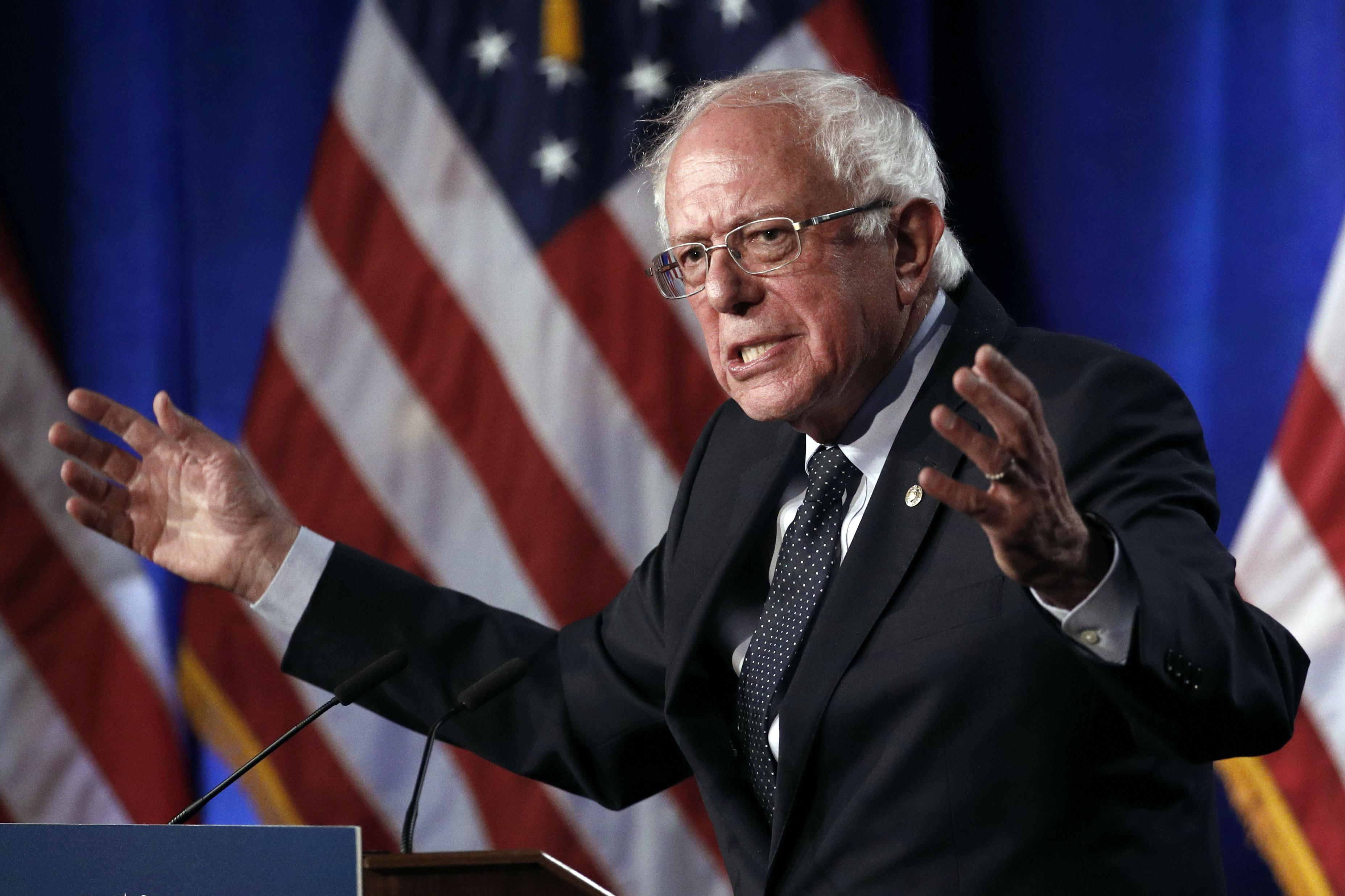 As goes Bernie Sanders, so go the Democrats, toward nomination or deadlock