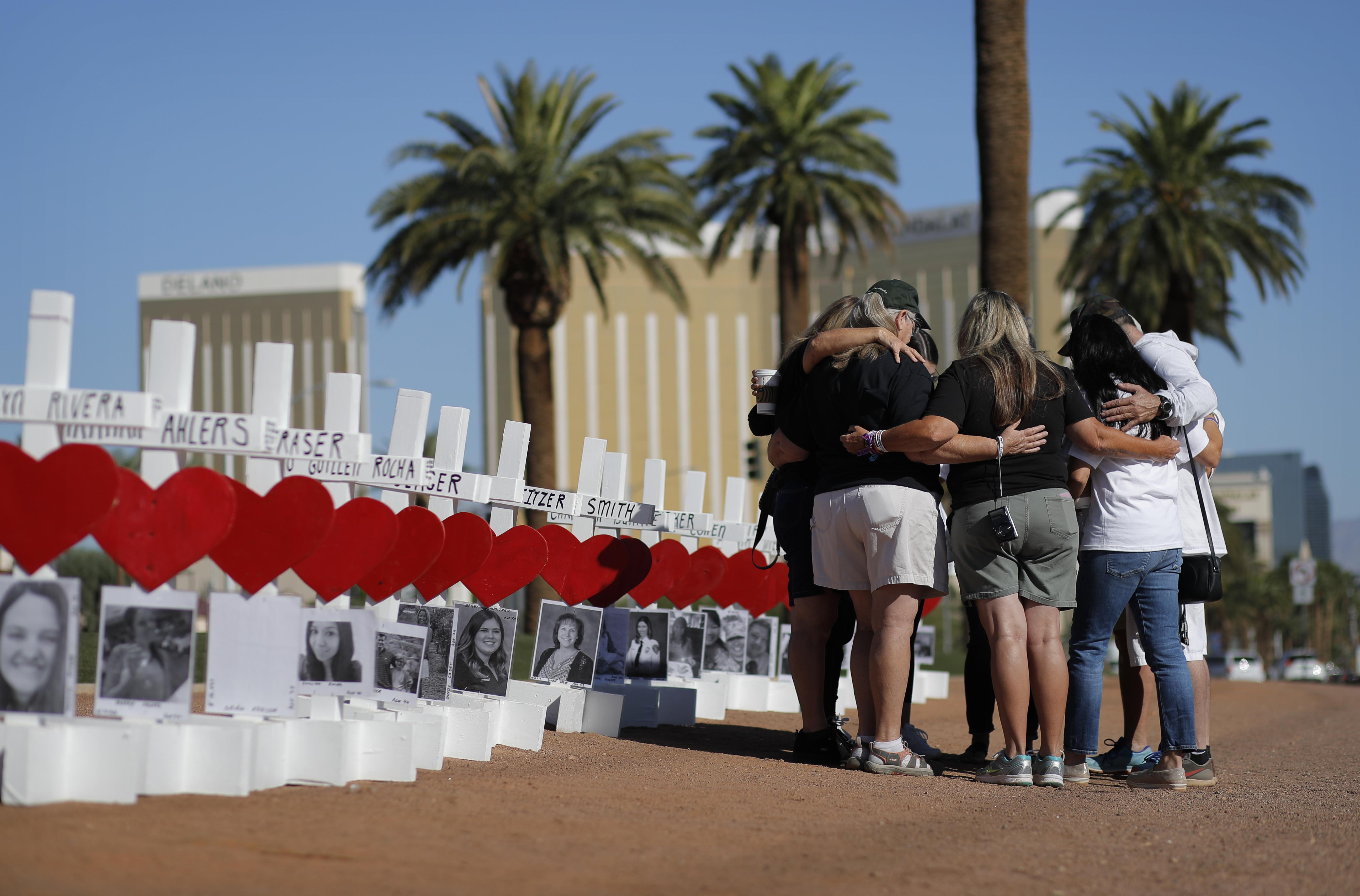 Las Vegas shooting victim dies of injuries; autopsy to determine if she's the 59th fatality