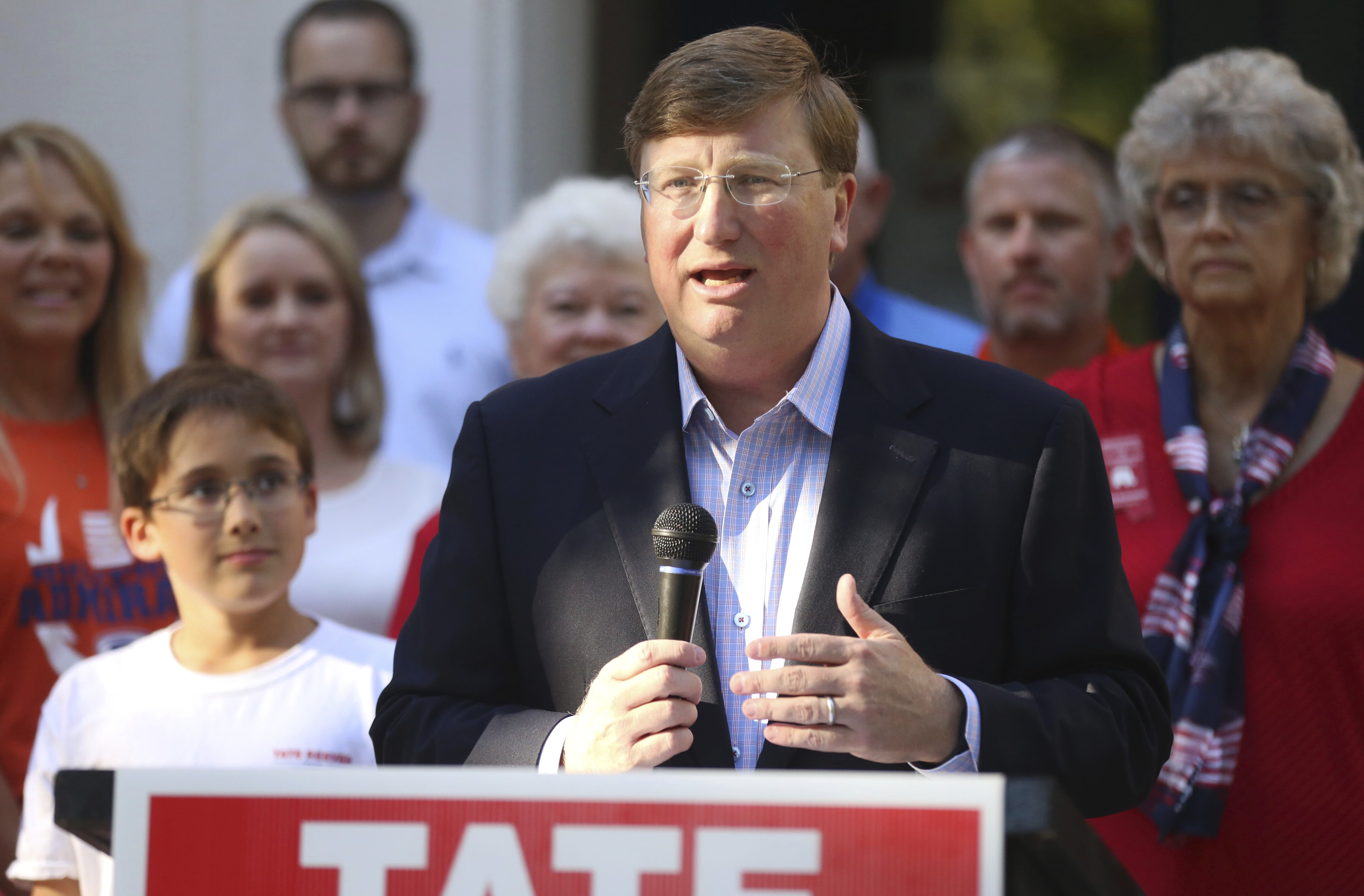 Jim Hood and Tate Reeves, Mississippi governor candidates, spar in first debate