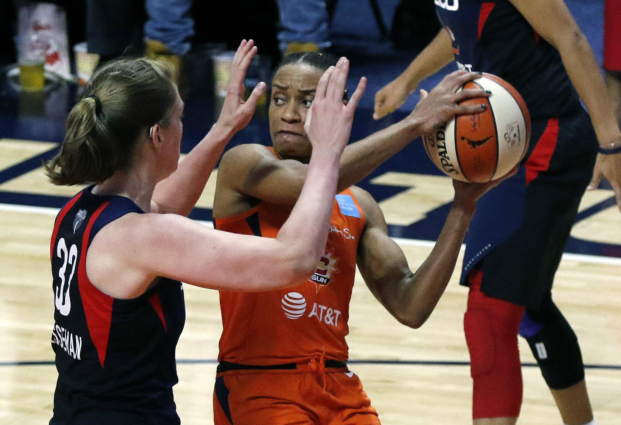 Mystics, Sun took commercial flights to D.C. for Game 5 of WNBA Finals