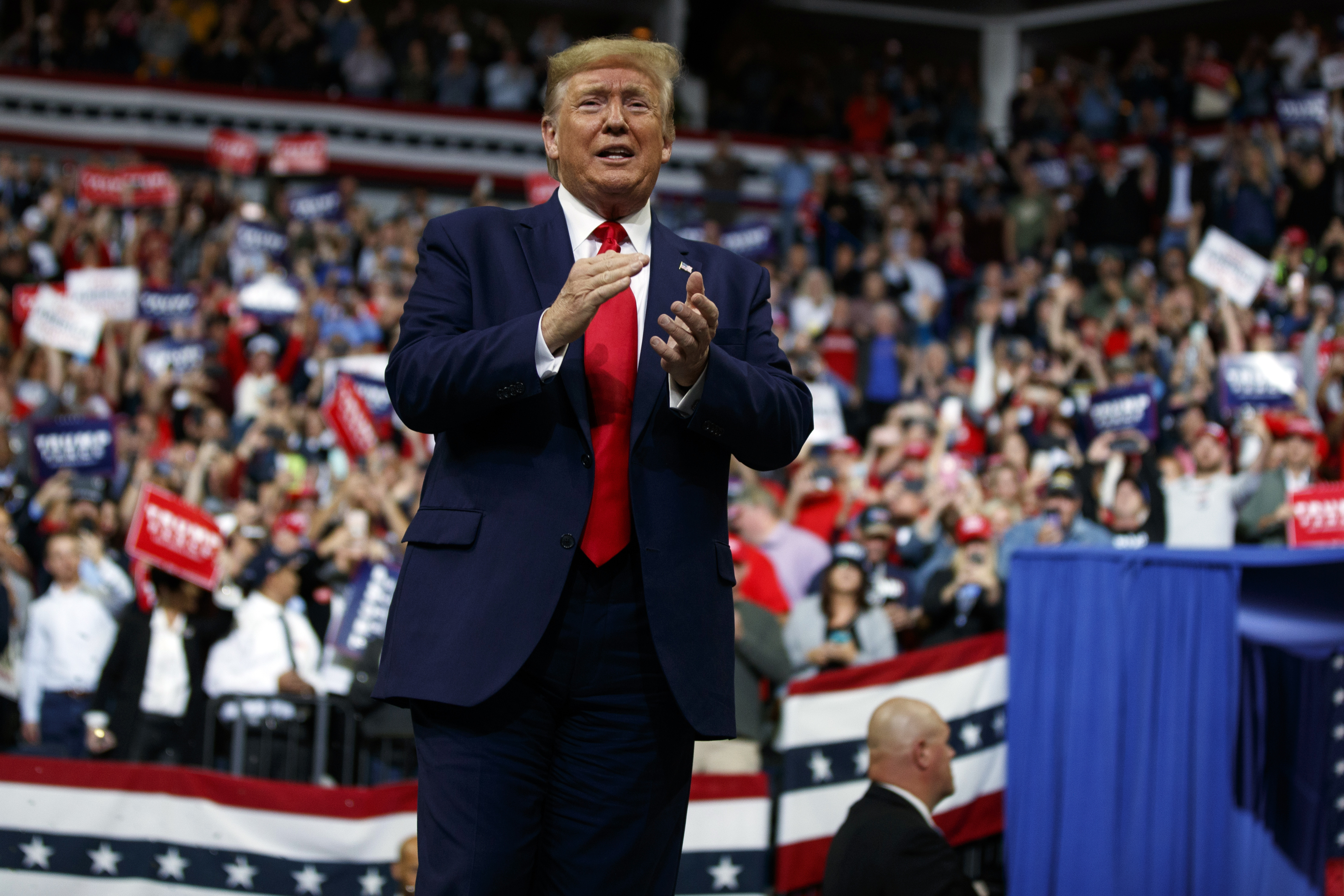 'Disgrace to our country': Trump blasts Ilhan Omar in her home state