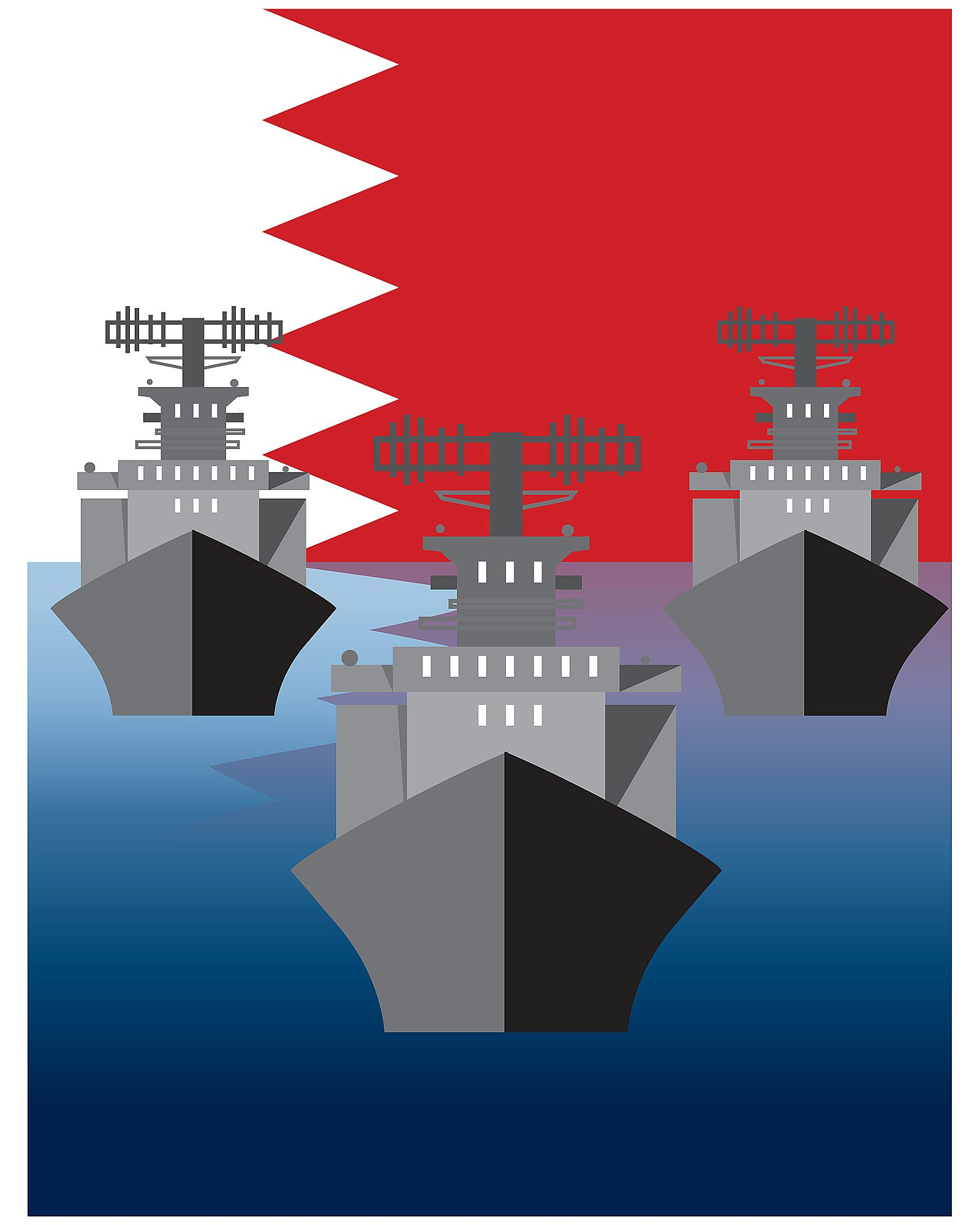 Supporting peace and security in the Arabian Gulf