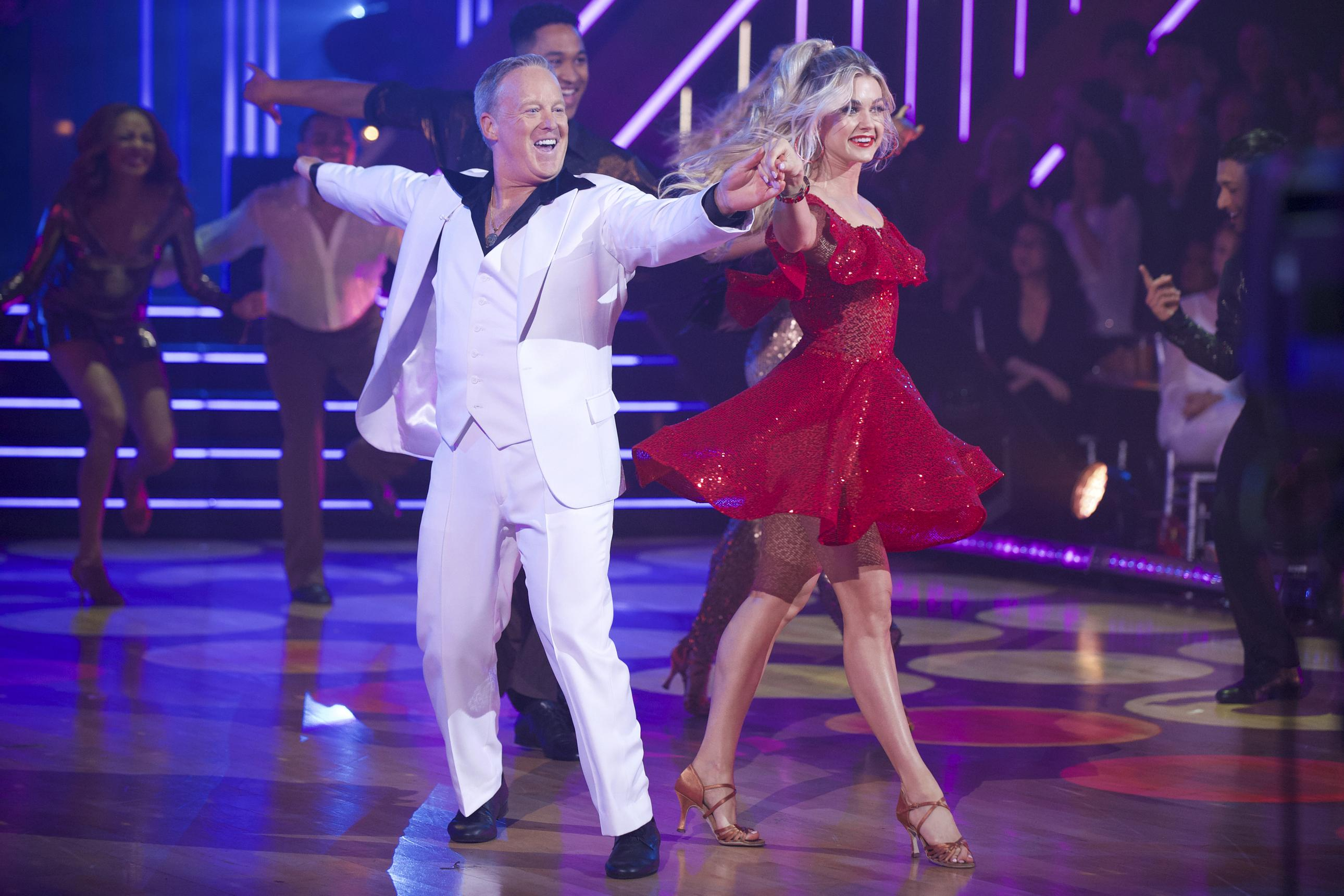 Sean Spicer voted out from Dancing With The Stars competition