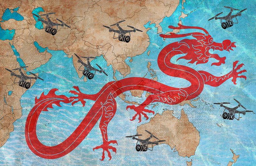 A 'Game of Drones' resets the rules in the South China Sea