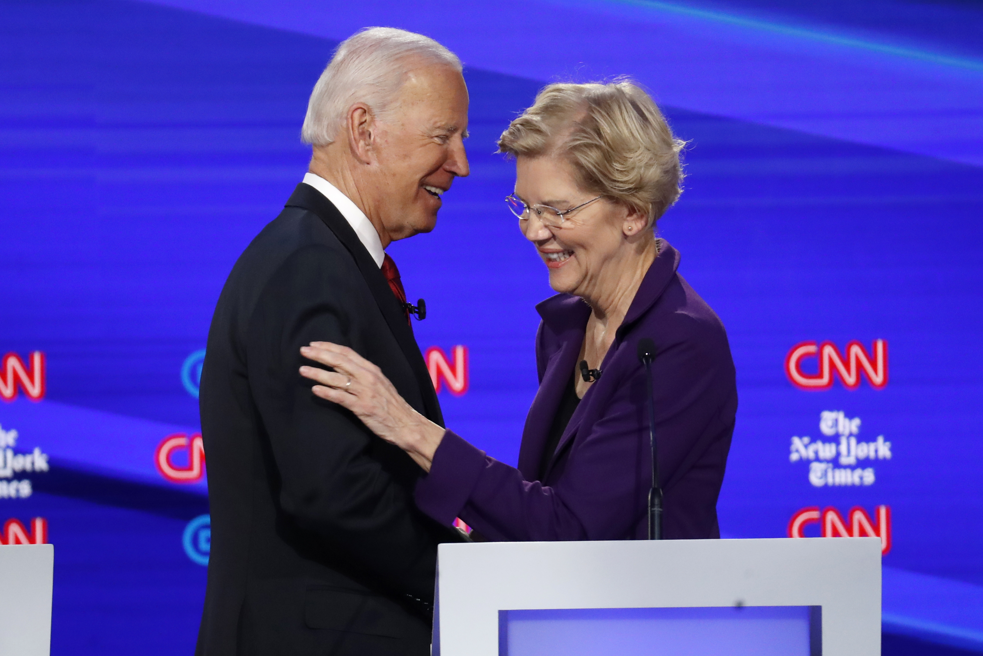 Joe Biden, Elizabeth Warren pace 2020 Democrats in California: Poll