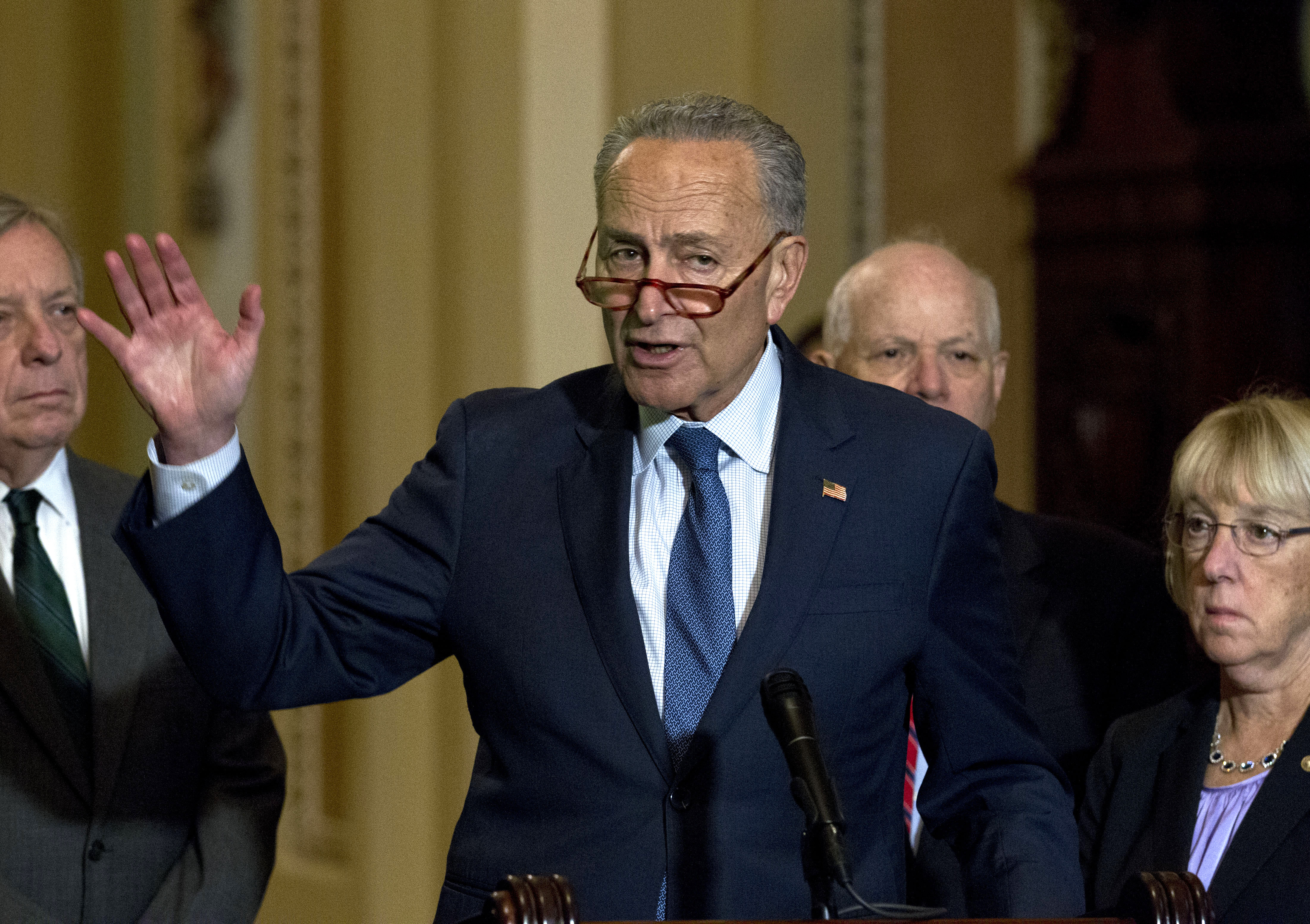 Chuck Schumer: Greatest insult from White House meeting was lack of po