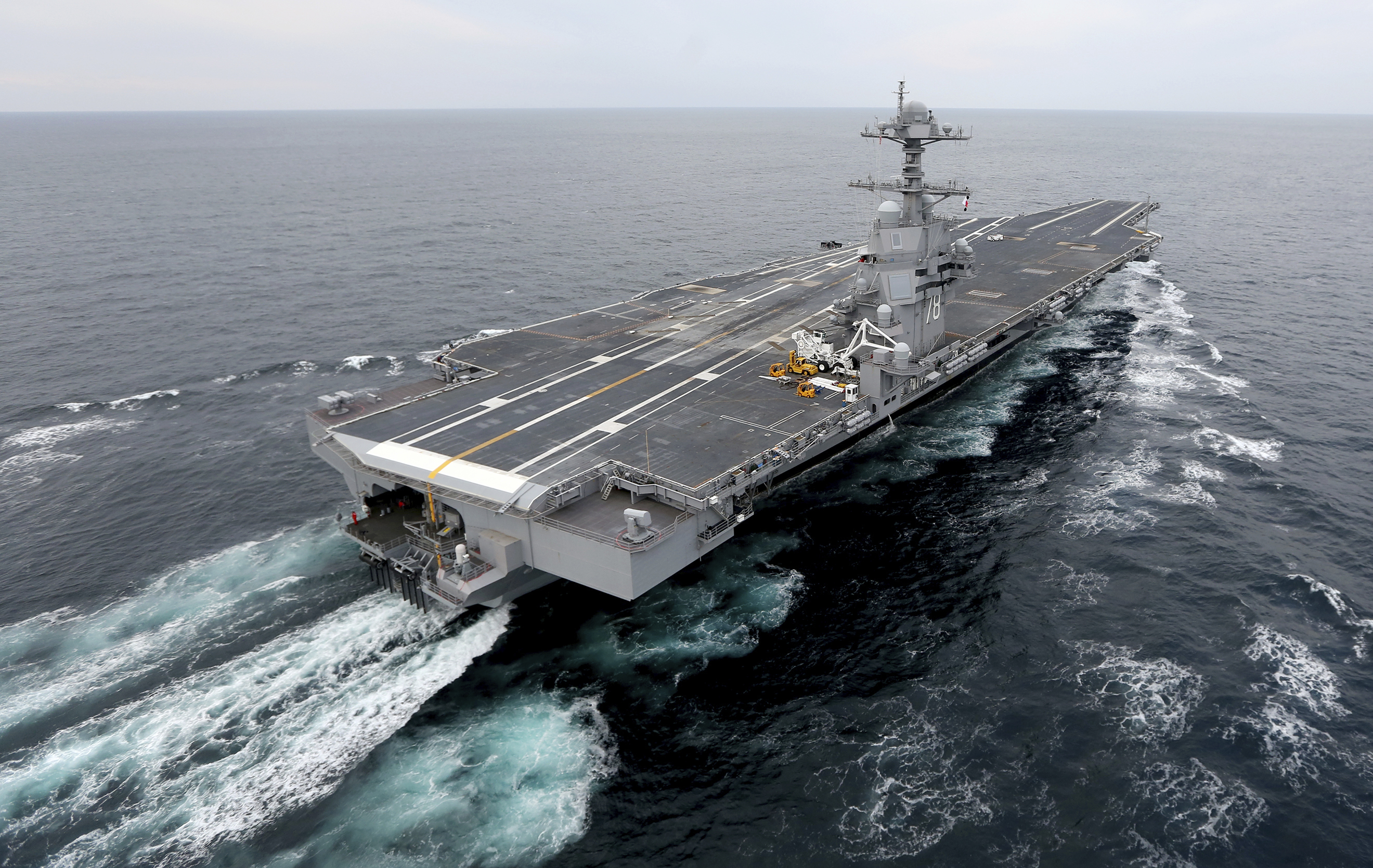 Navy weighs adding extra fighters to amphibious ships due to carrier s
