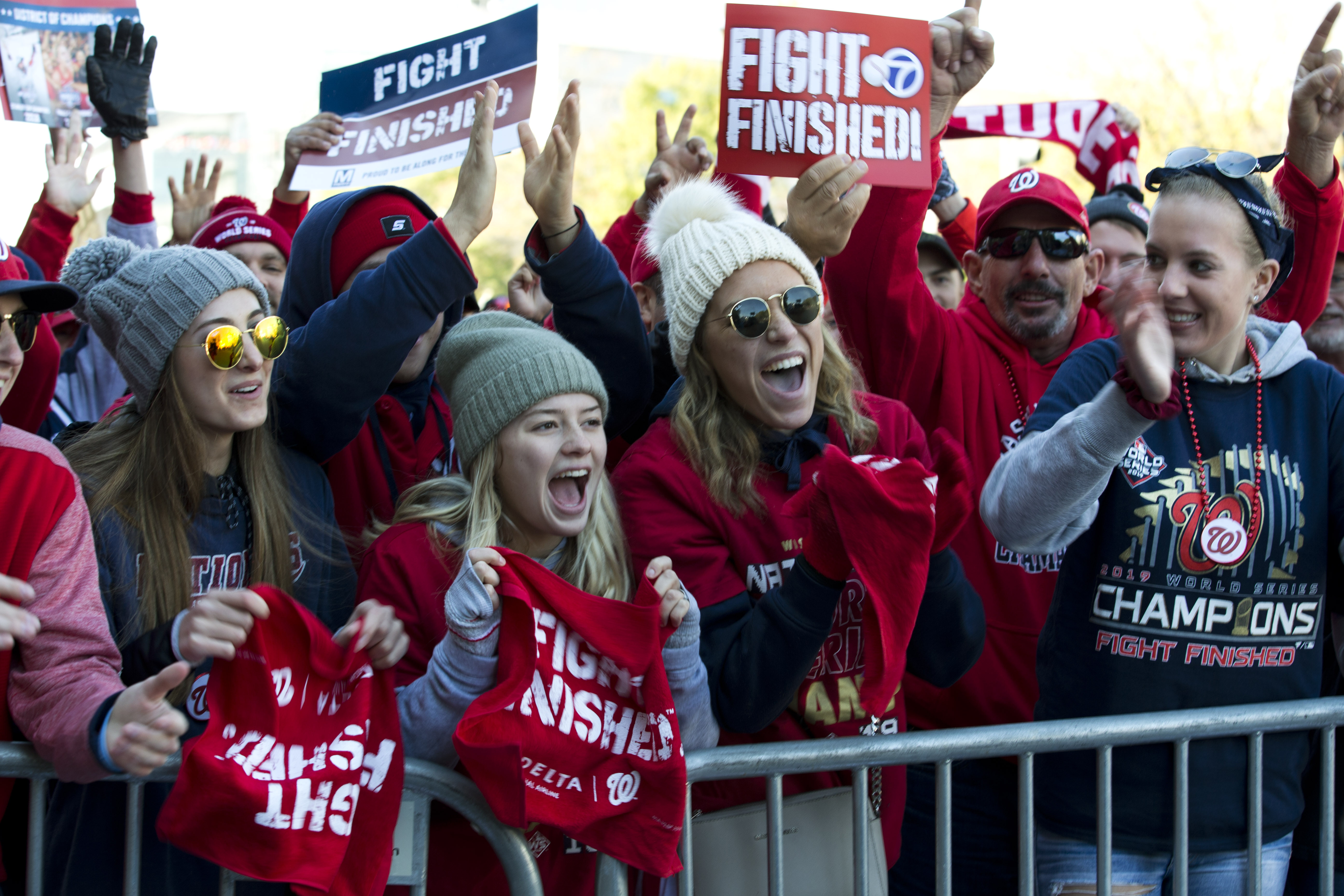 Nationals' World Series win creates 'profound impact' for merchandise dealers