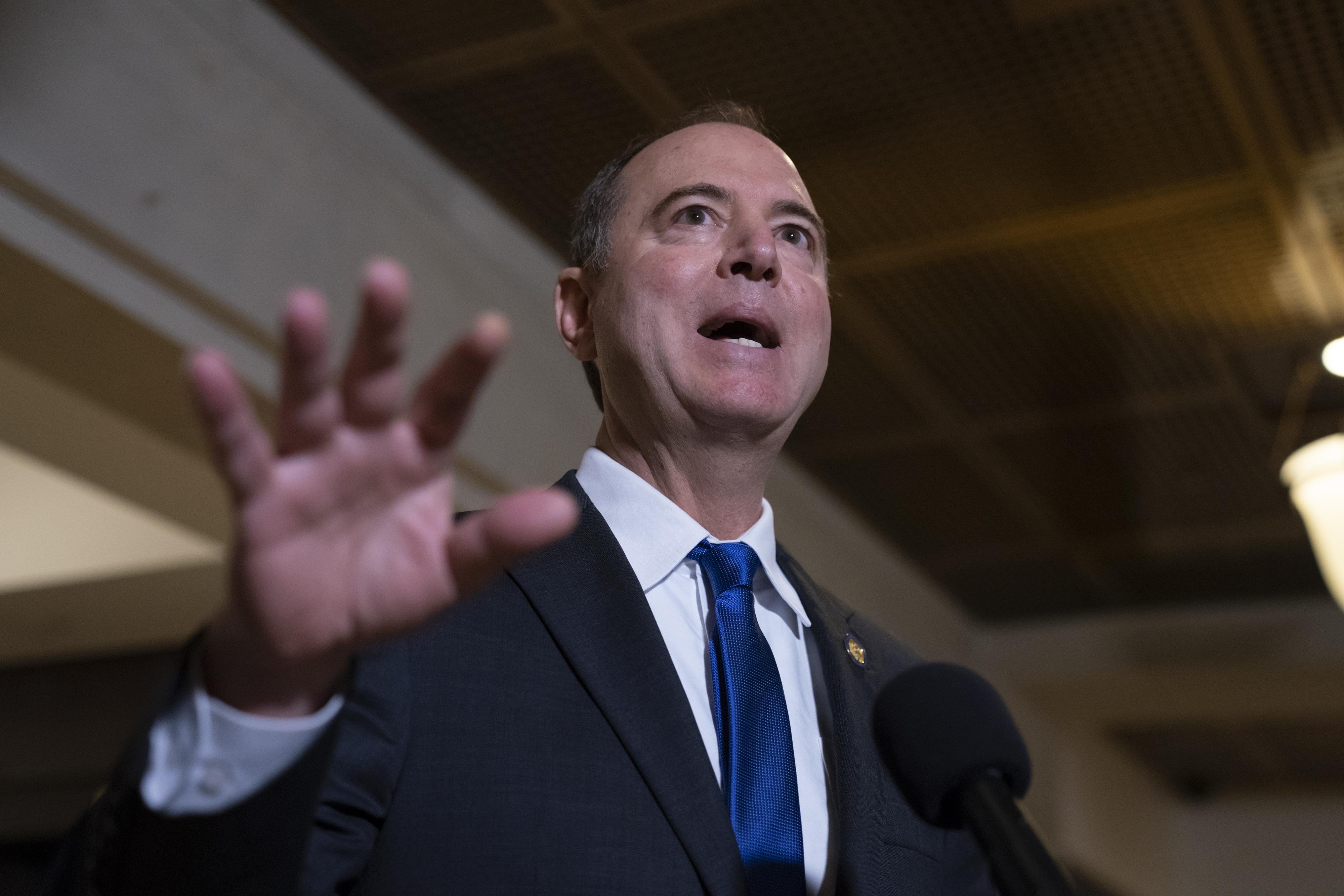 Adam Schiff rejects Hunter Biden, 'whistleblower' as impeachment witnesses