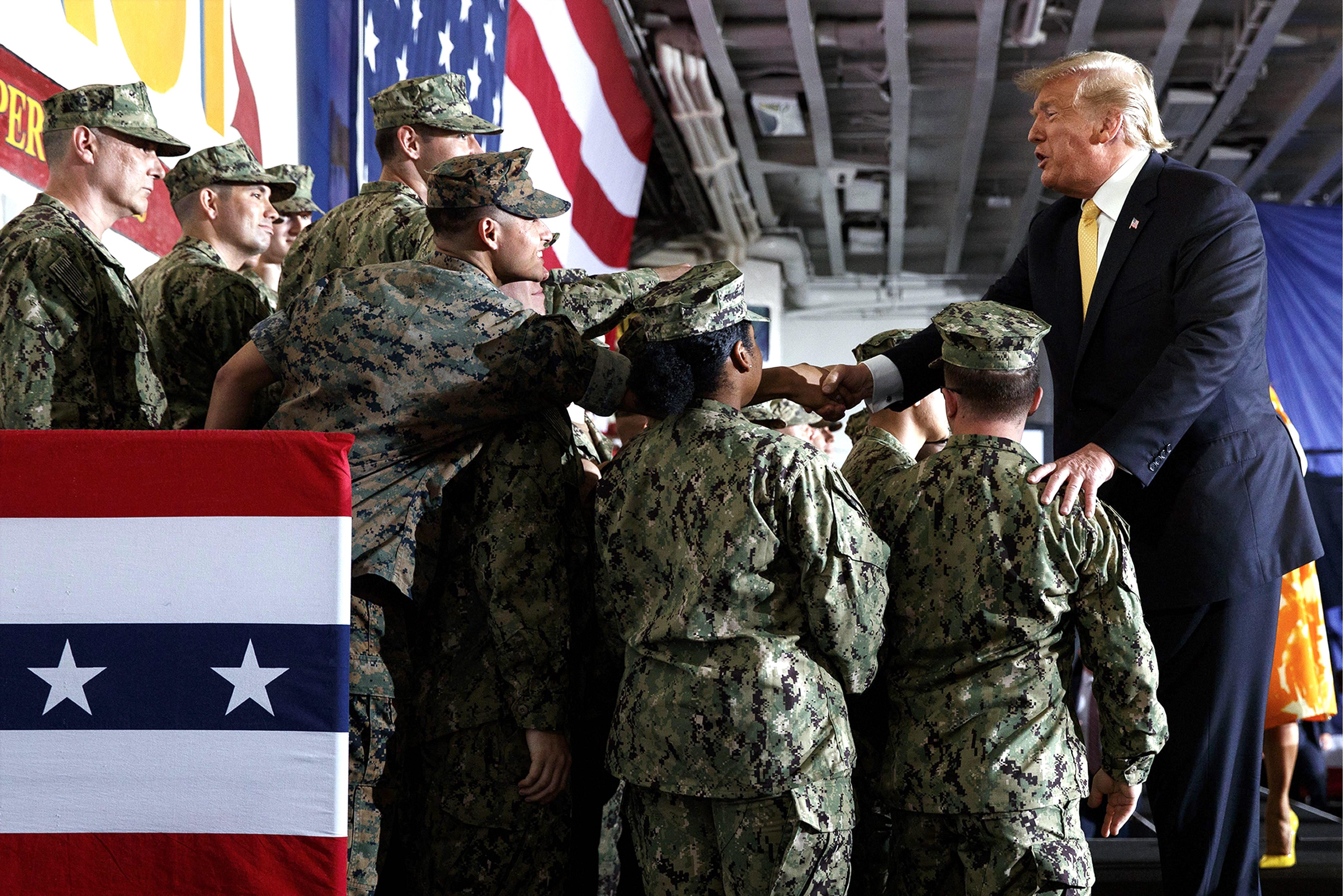 Inside the Beltway: Vets view Trump as the master commander