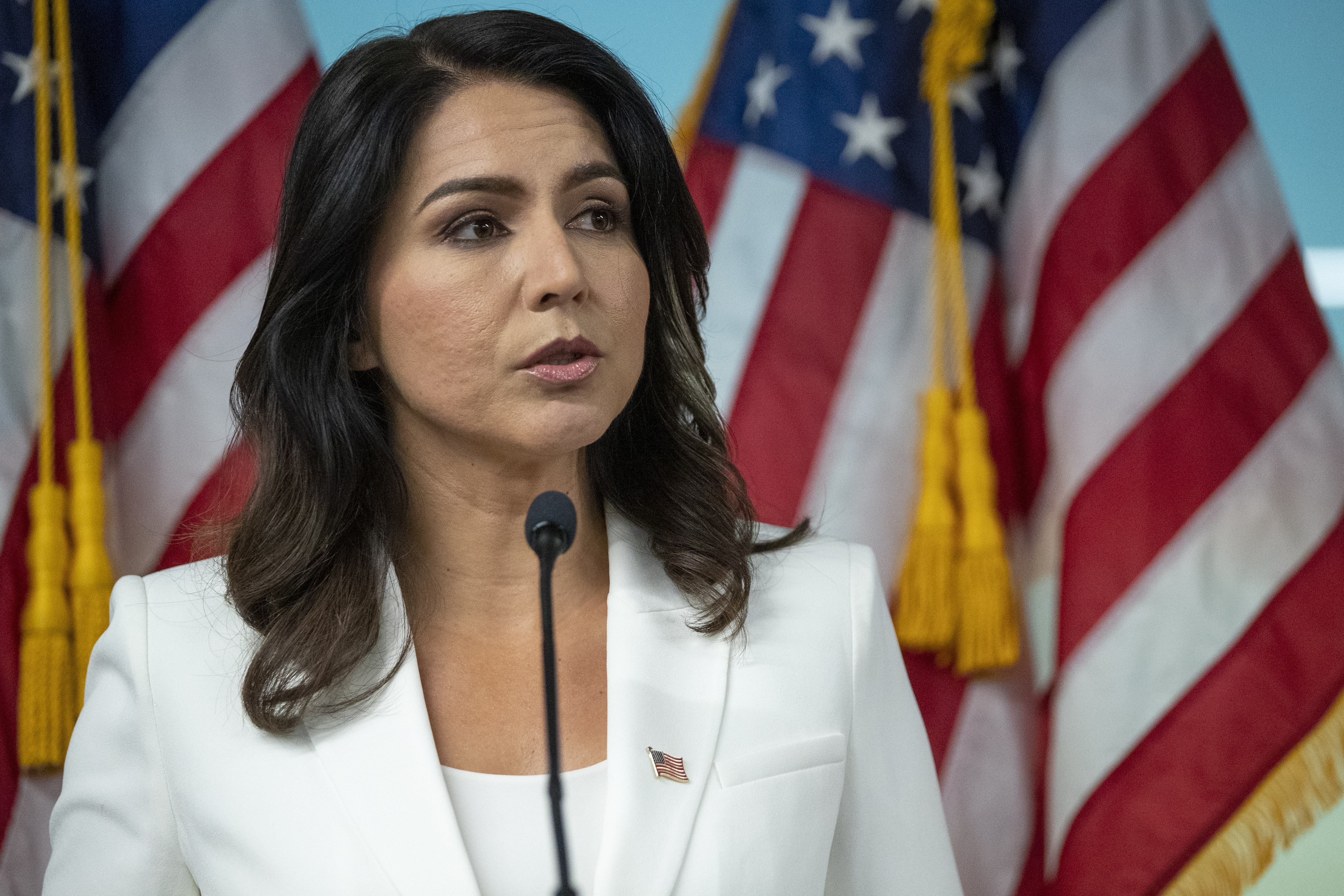 Tulsi Gabbard lawyers accuse Hillary Clinton of 'defamation' for Russian asset claim