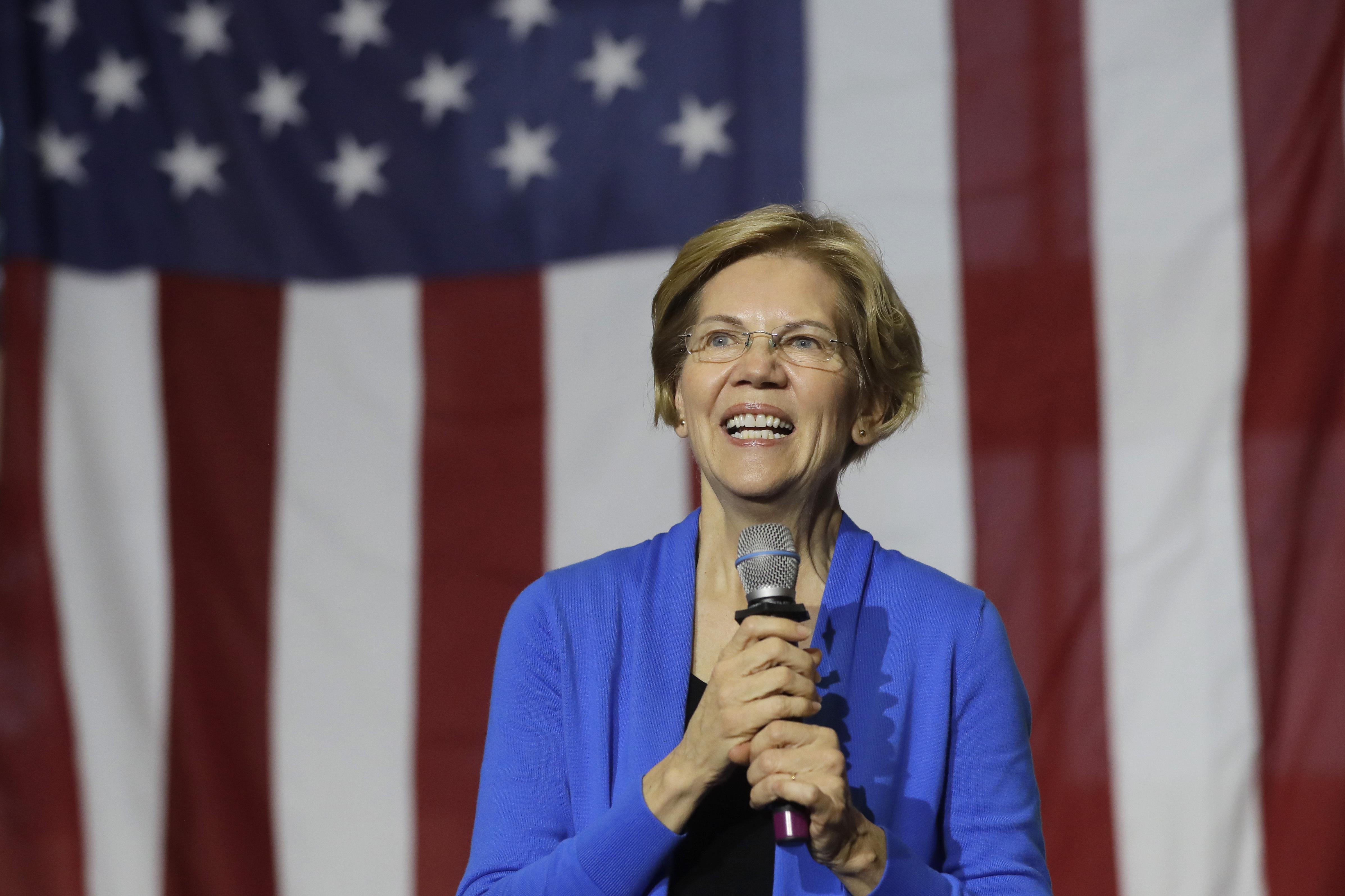 Elizabeth Warren tops 2020 Democratic presidential field in Iowa: Poll