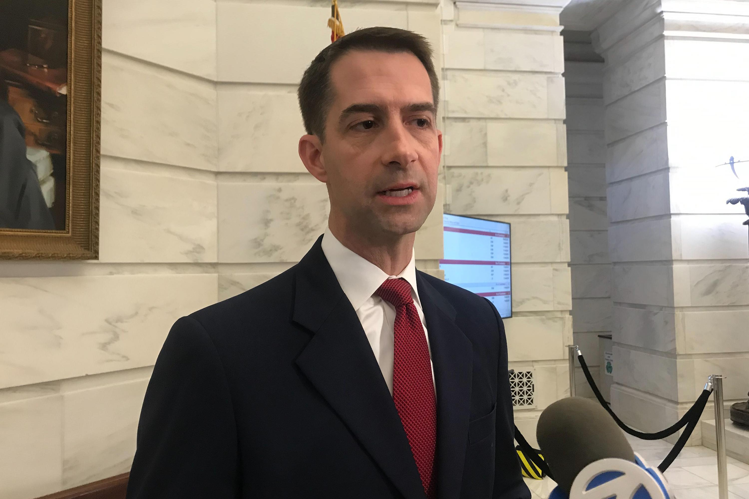 Tom Cotton: Democrats haven't proven case, don't need to 'prolong' things