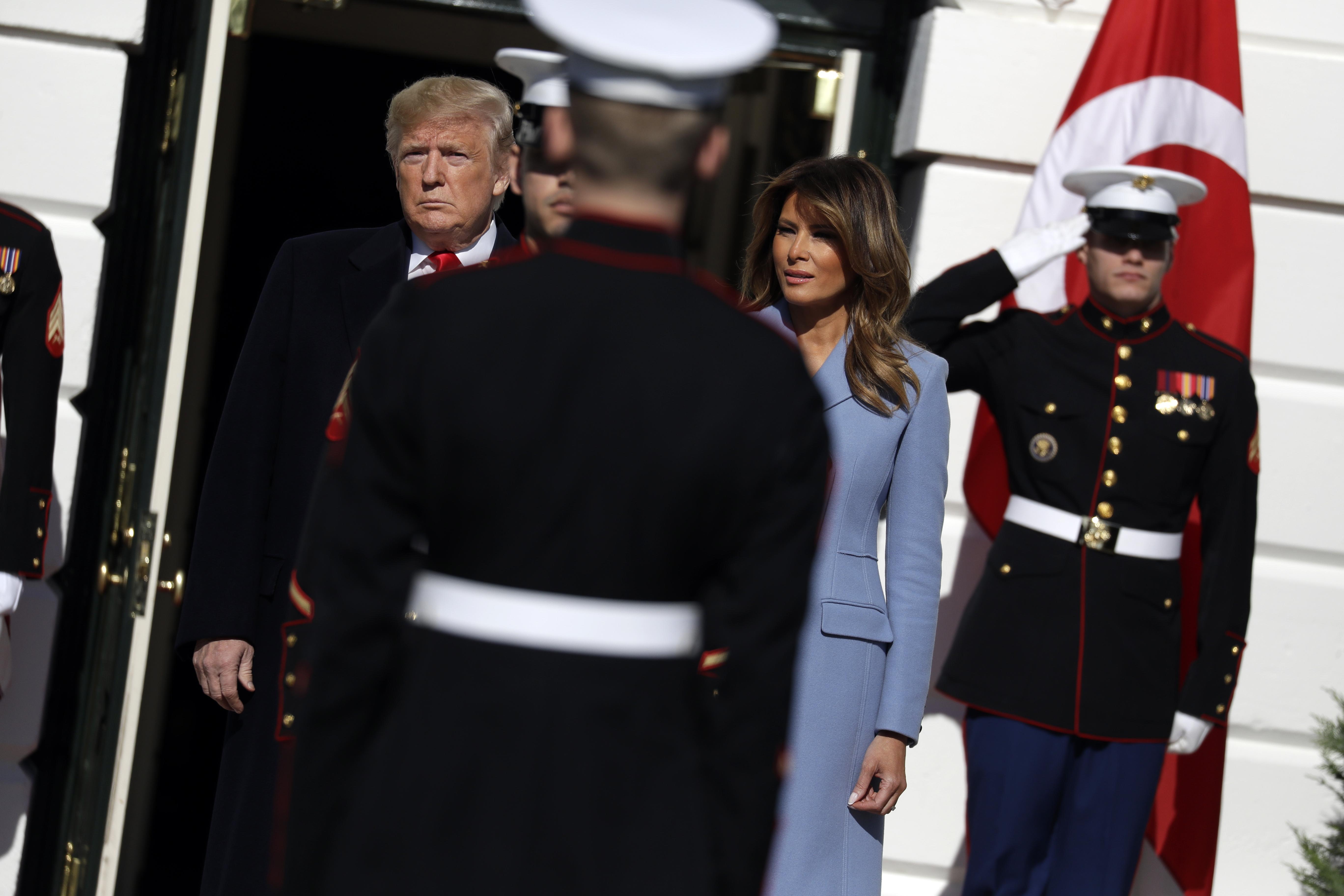 Trump hosts Turkey's Erdogan at White House for talks