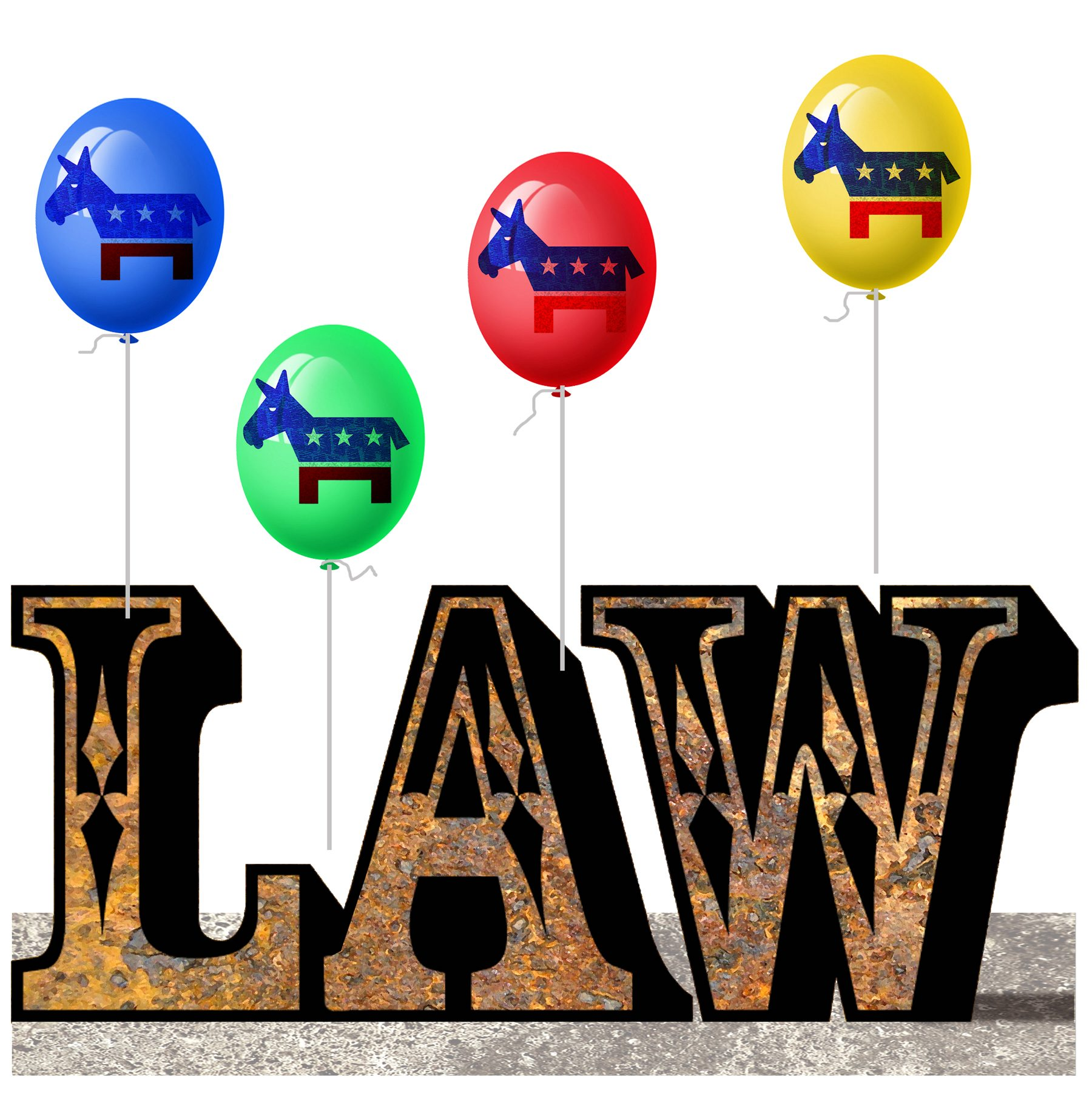 No one is above the law - unless you're a Democrat