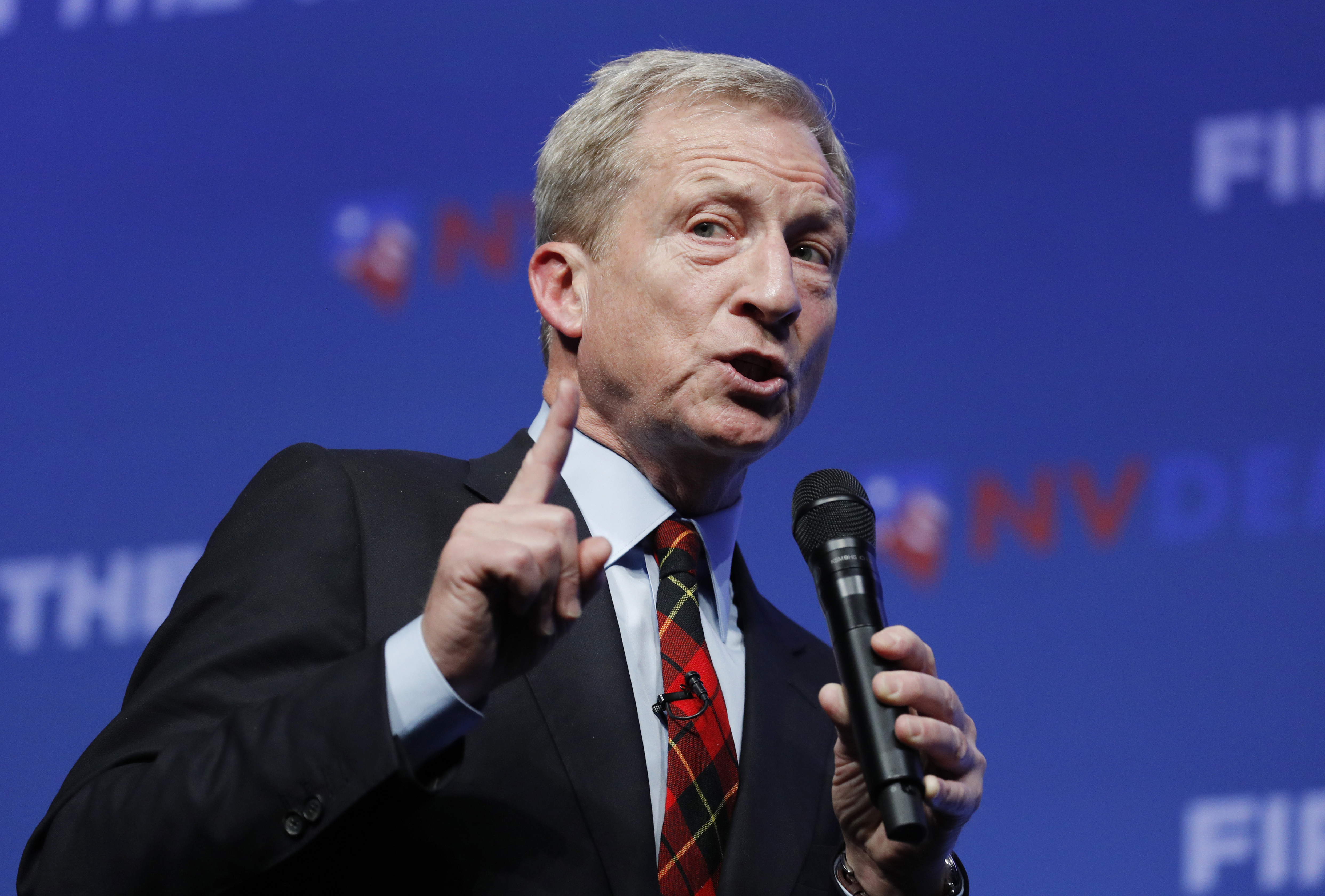 Tom Steyer: I'm the only candidate who will say climate change is 'number one priority'
