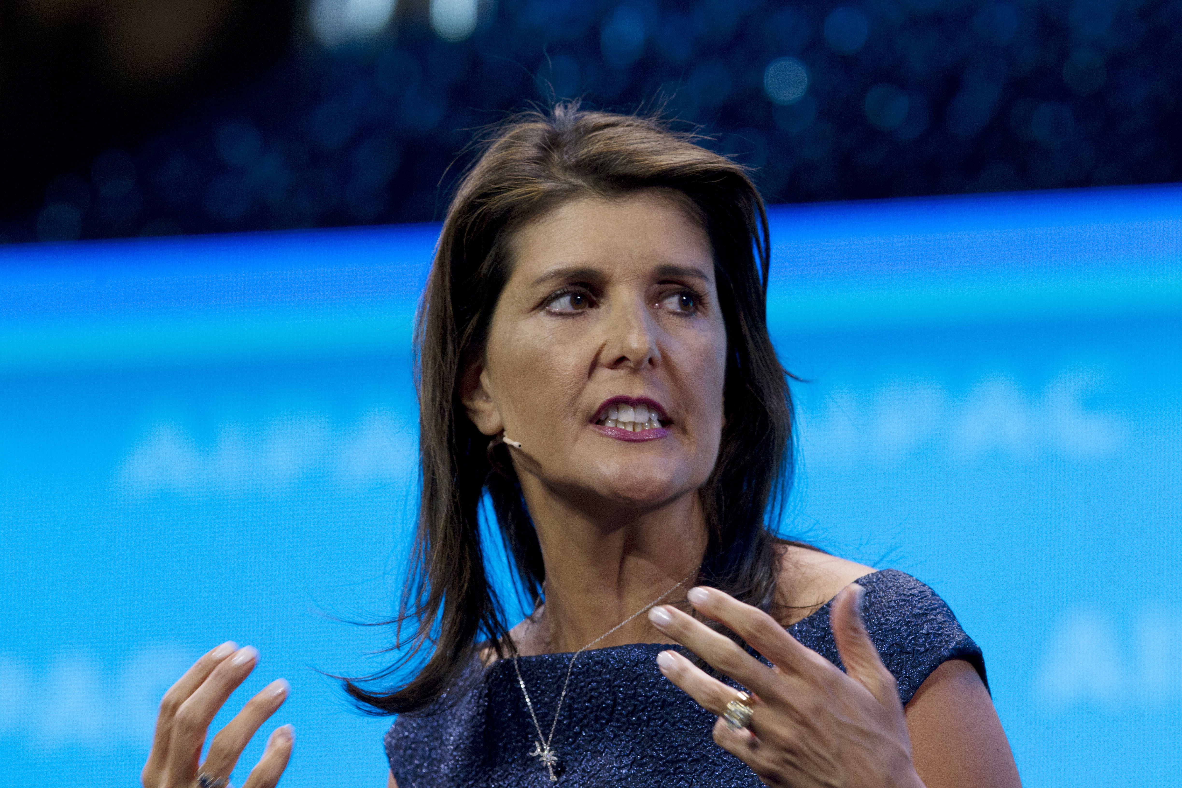 Nikki Haley sent classified info from BlackBerry after losing password