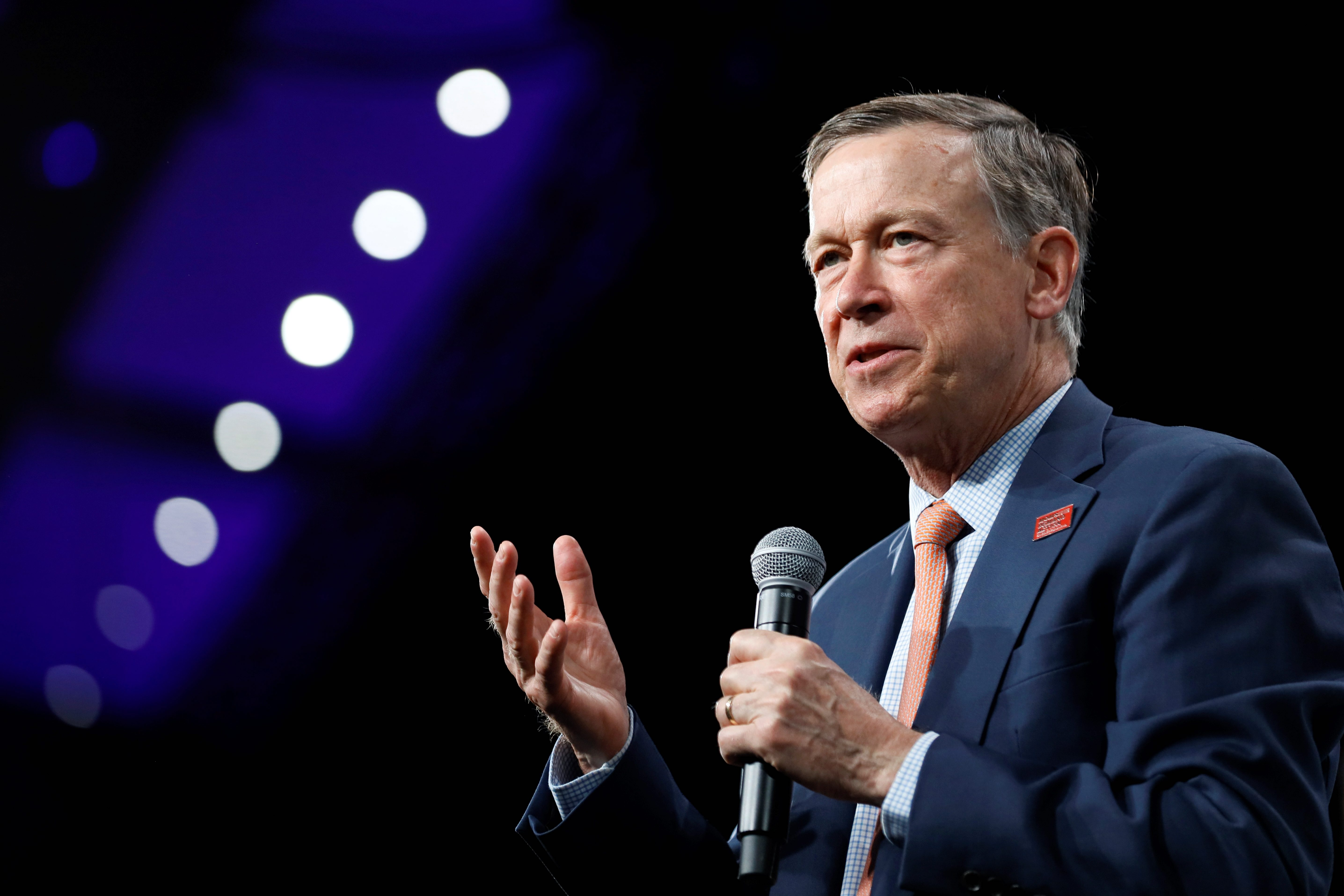 John Hickenlooper bid for Senate snubbed by progressive activists in favor of Andrew Romanoff