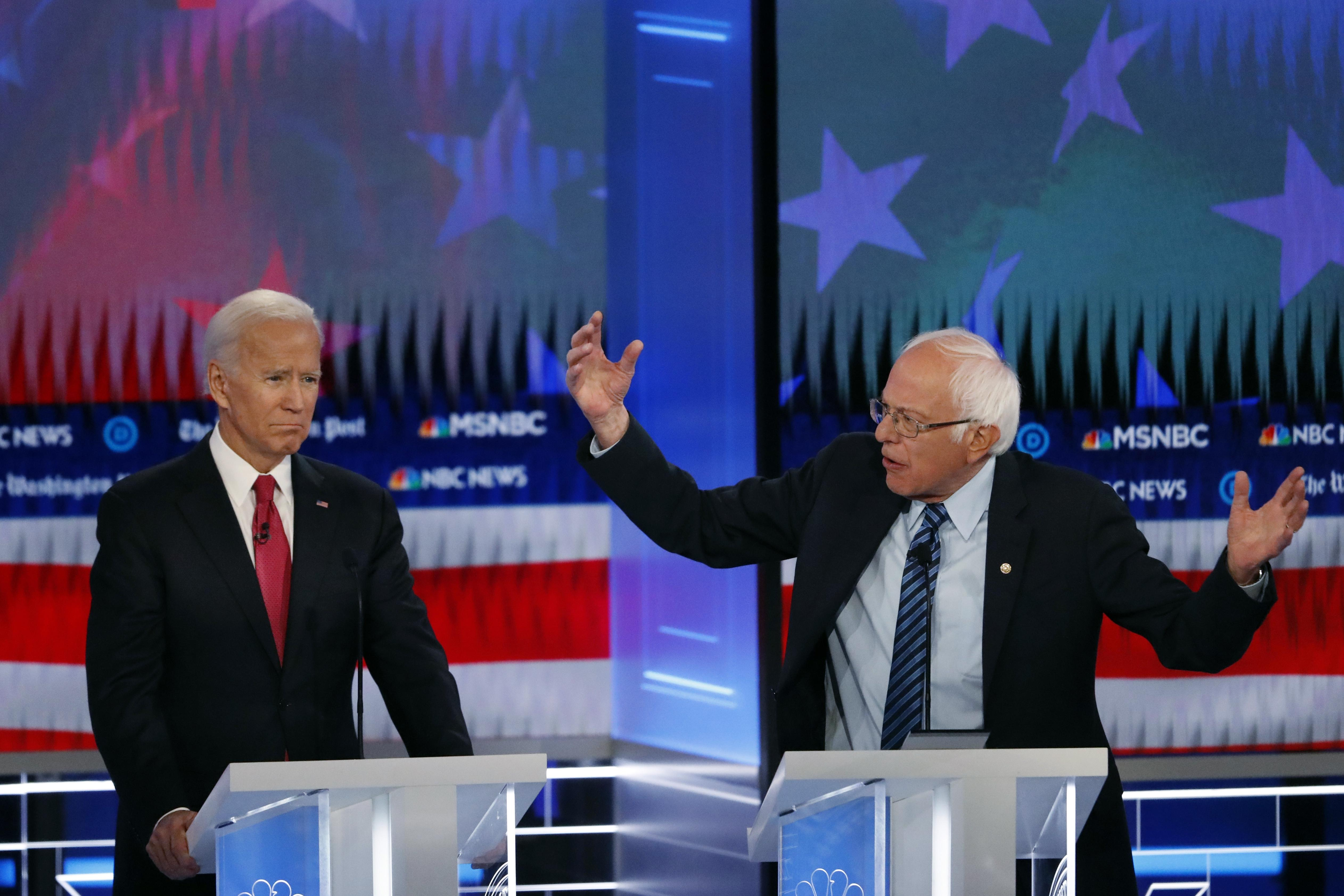 Joe Biden, Bernie Sanders top 2020 Democratic presidential field: Poll