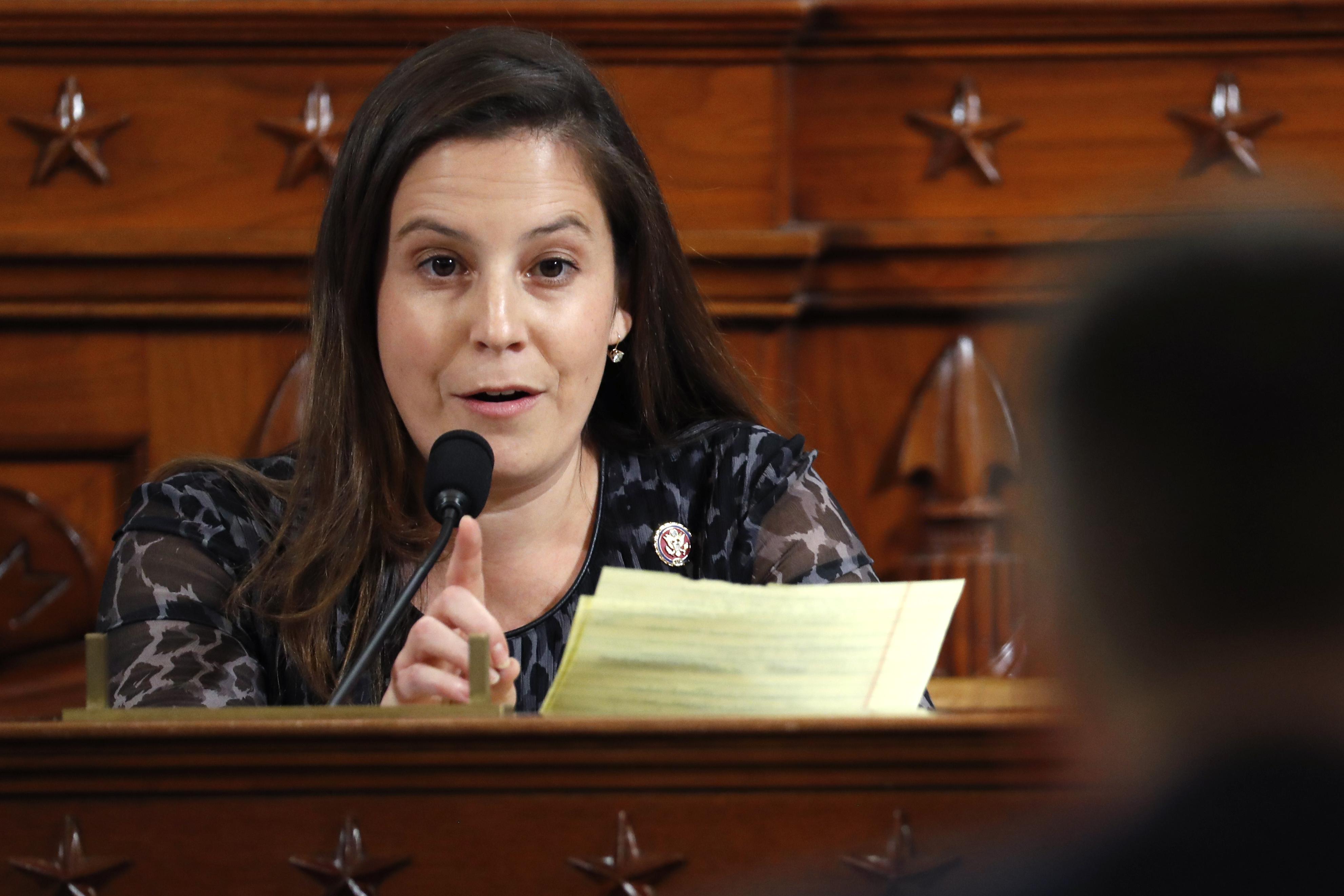 'A New Republican Star is born': Elise Stefanik rises amid impeachment drama