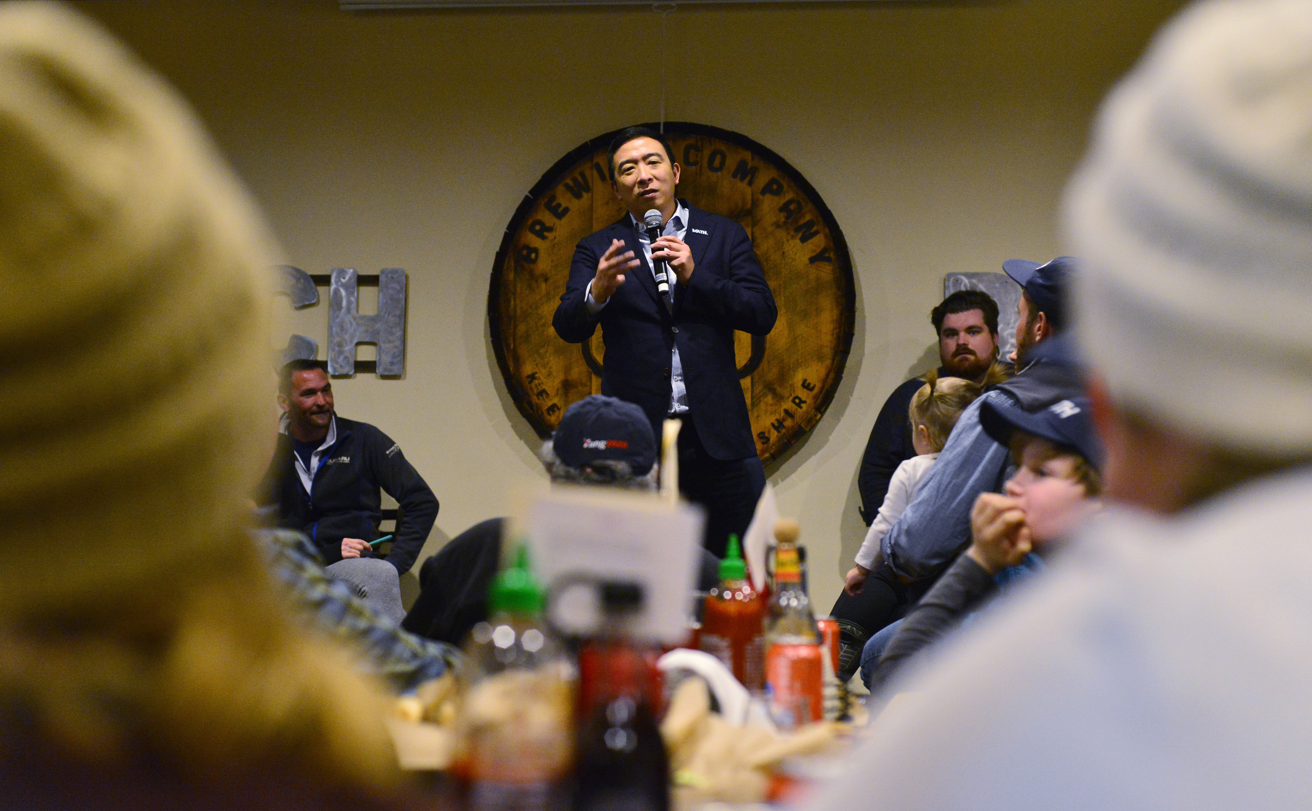 Andrew Yang campaign says FBI alerted over emailed threats