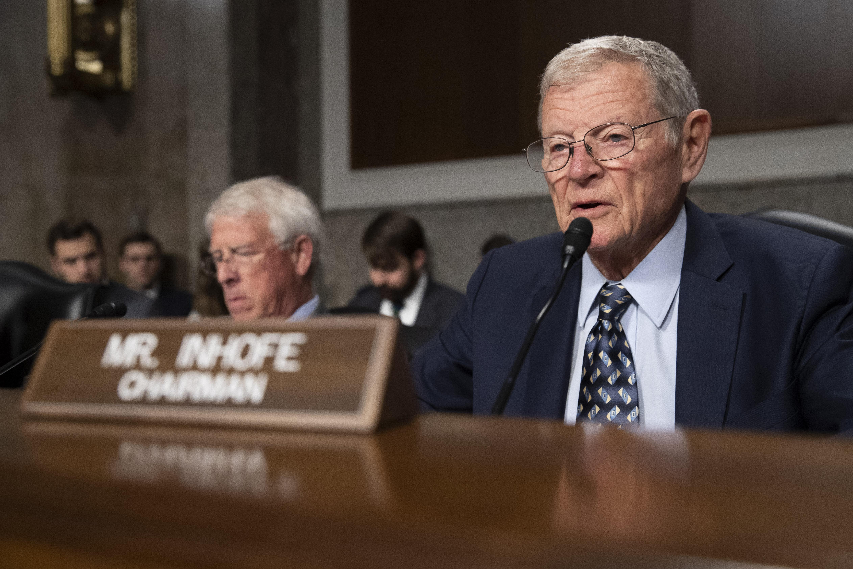 "Lawmakers consider 'skinny"" military spending bill as deadline nears"