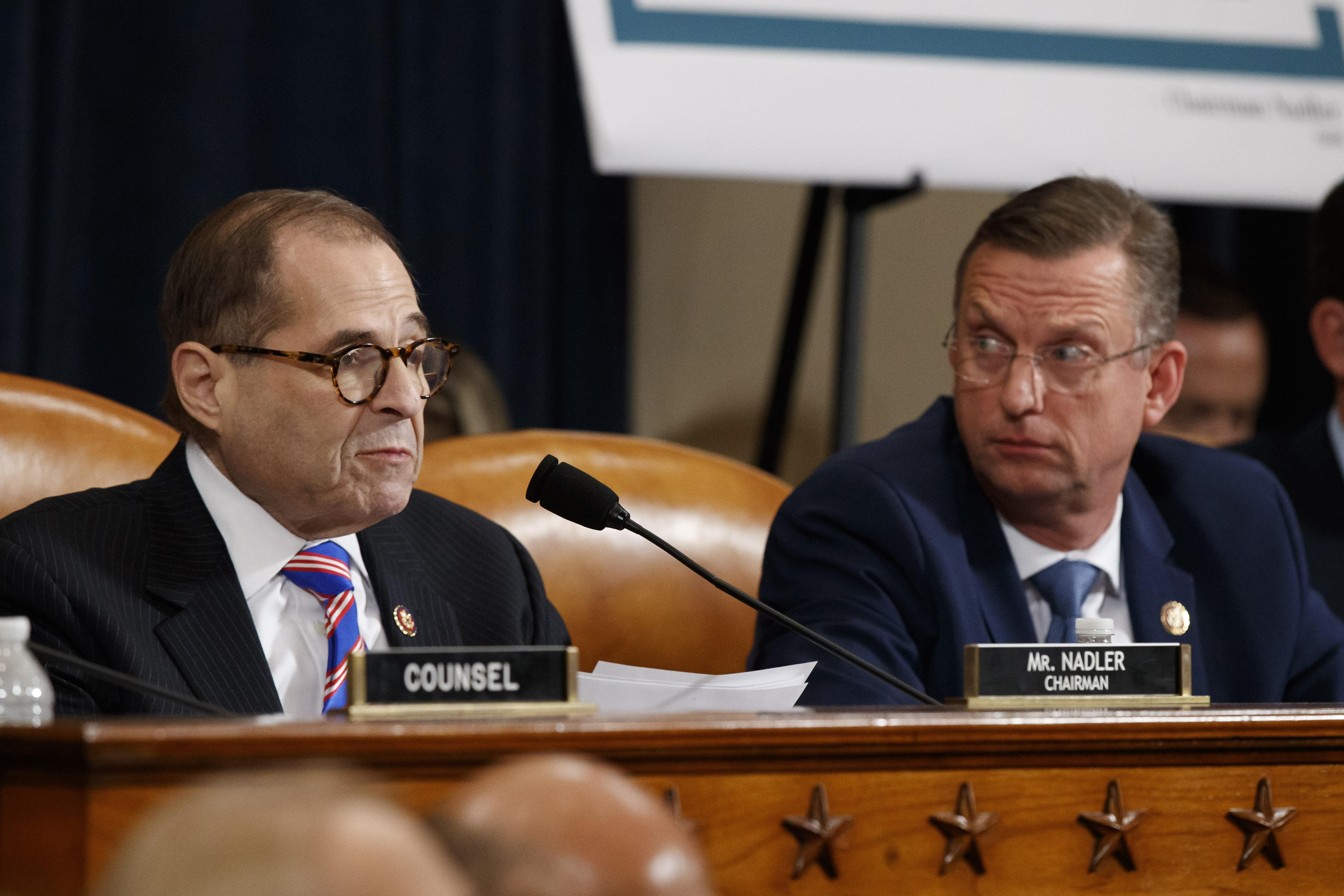 Nadler boils down impeachment case: 'No president should put himself before the country'