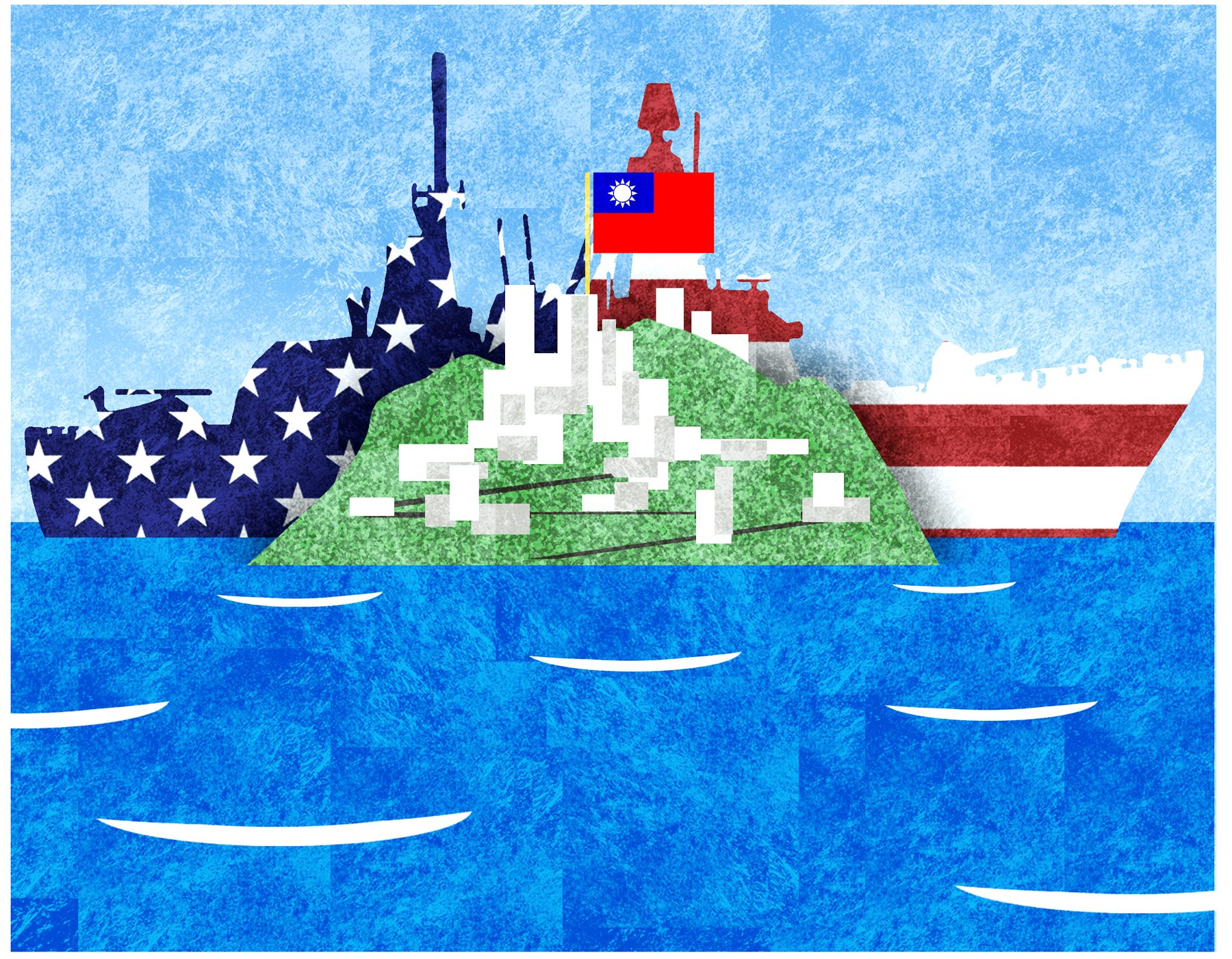 Warship visits to Taiwan will show China that the United States holds the winning hand