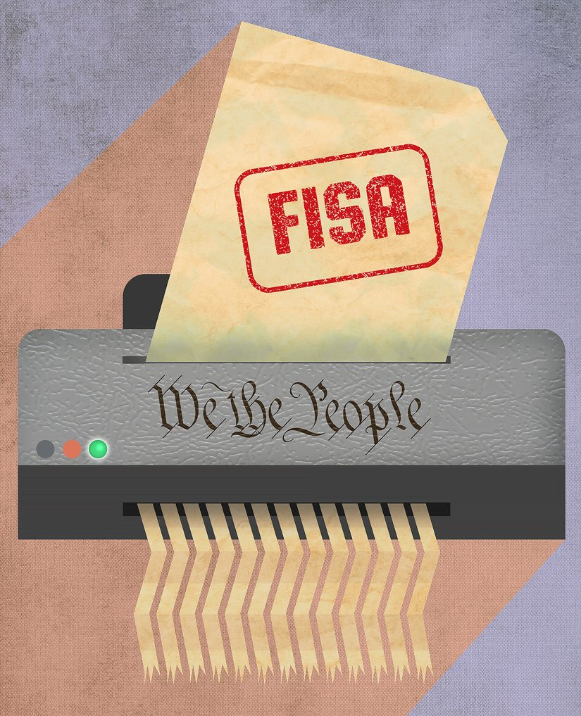 Foreign Intelligence Surveillance Act (FISA) contradicts the Constitution