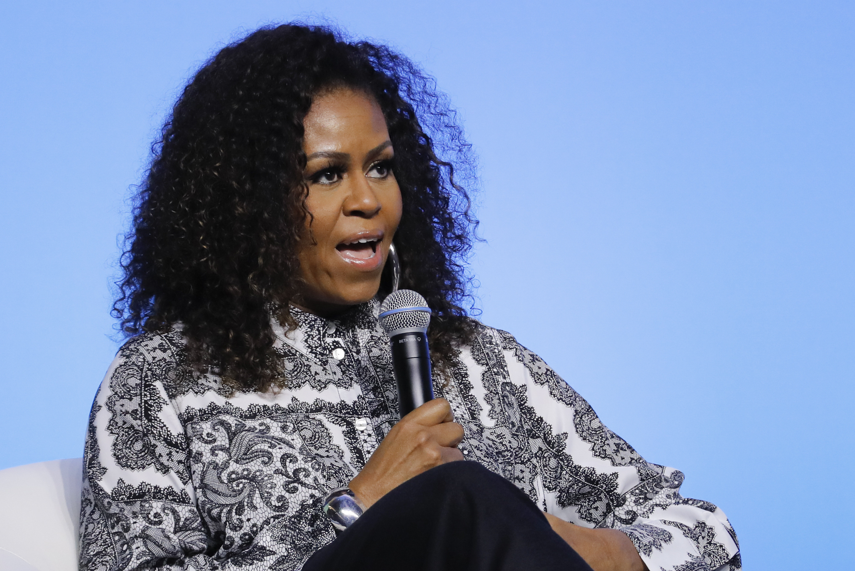 Michelle Obama on George W. Bush friendship: 'Our values are the same'