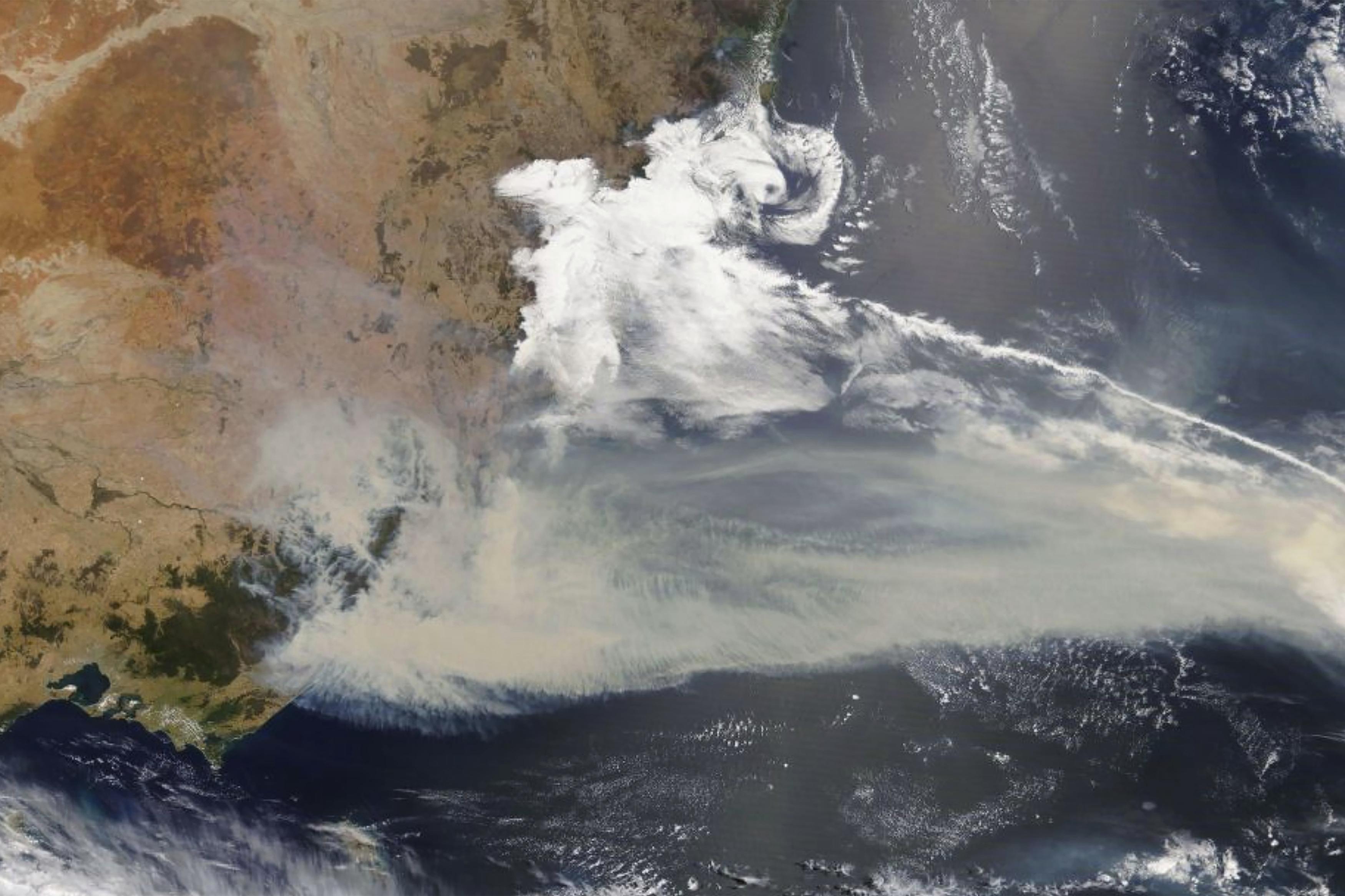 Image result for satellite images of australia fires