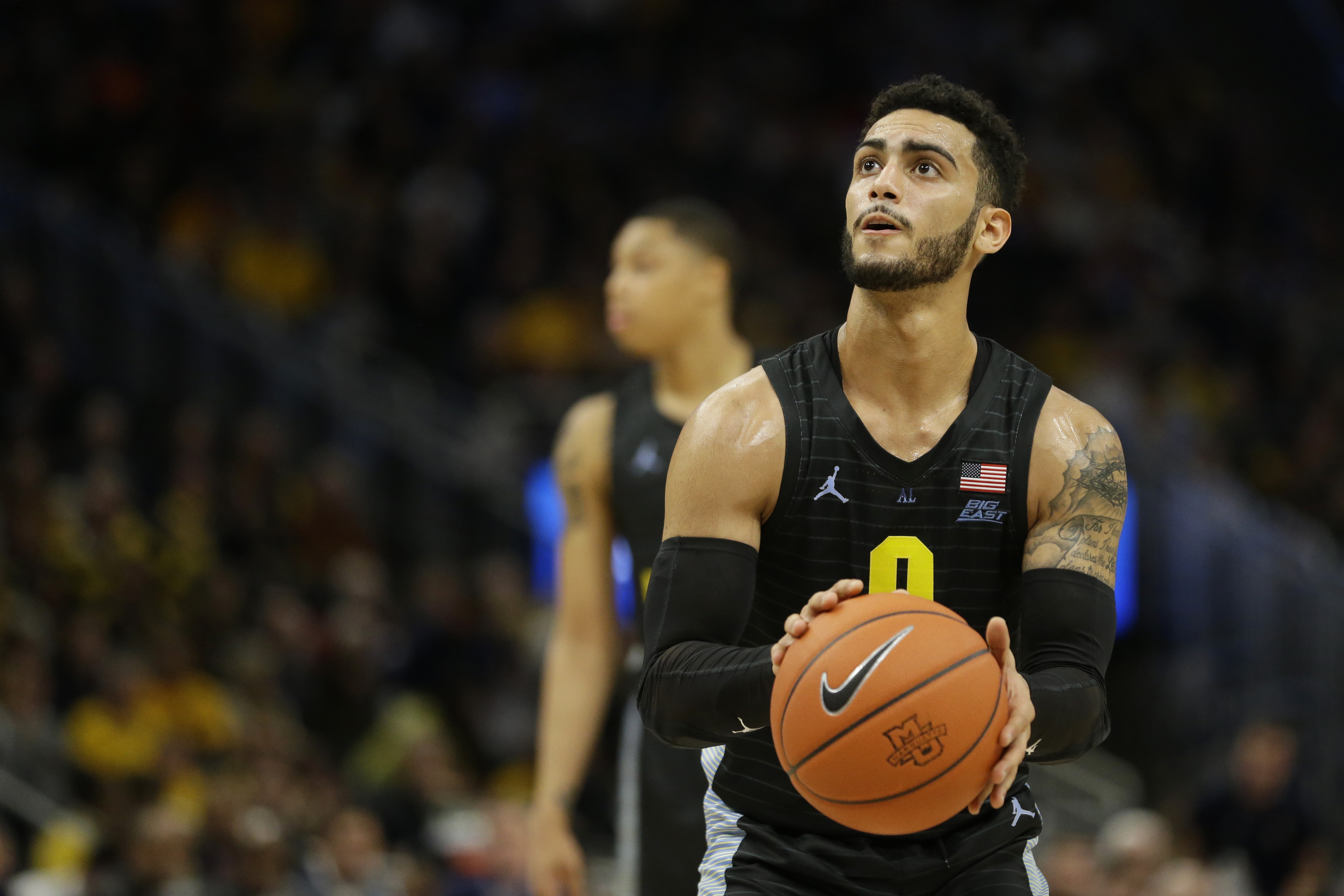 How Markus Howard Dropped 42 On Georgetown Including The Go Ahead Three Washington Times
