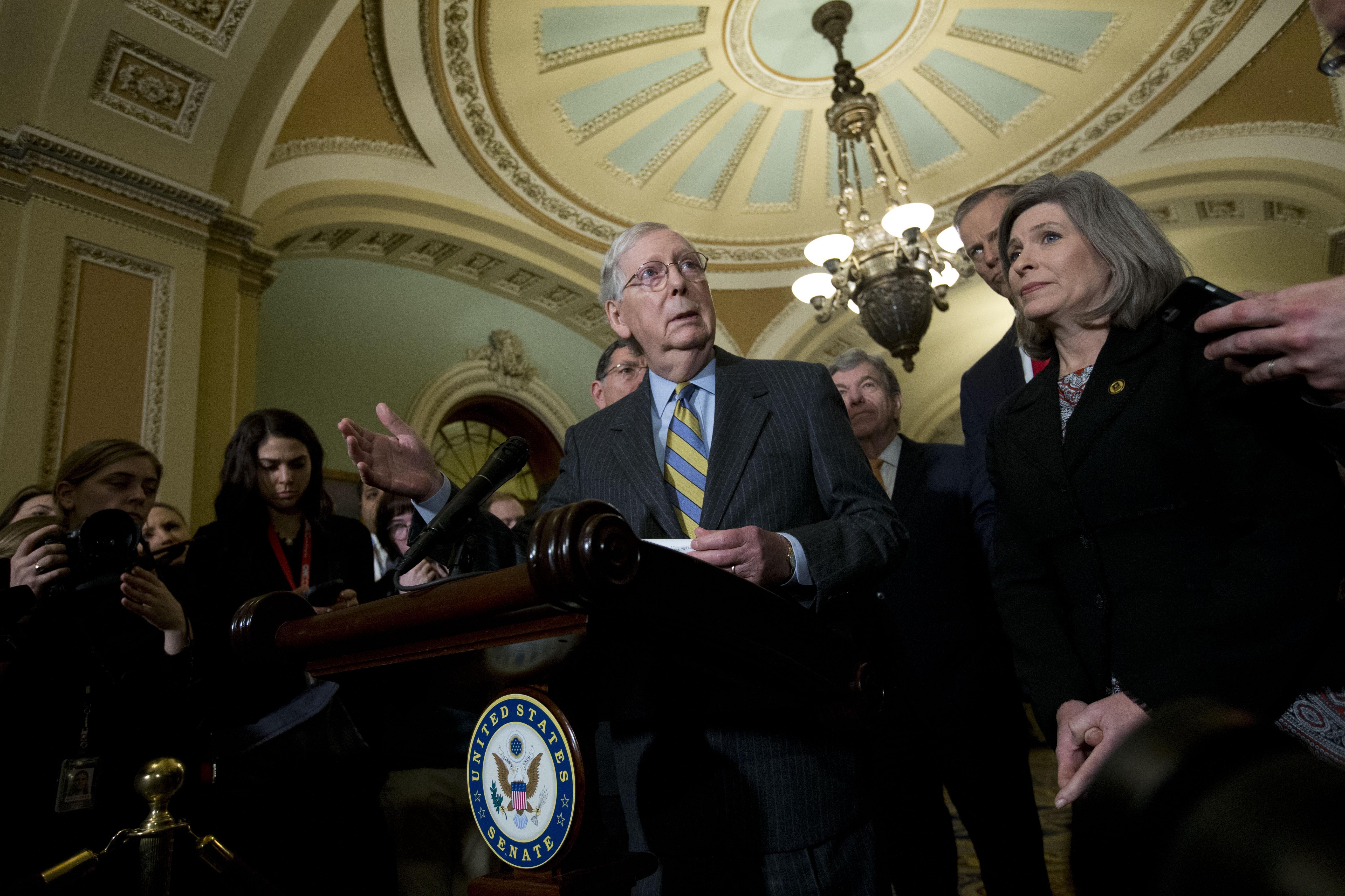 Senate Republicans plan vote on US-Mexico-Canada trade act