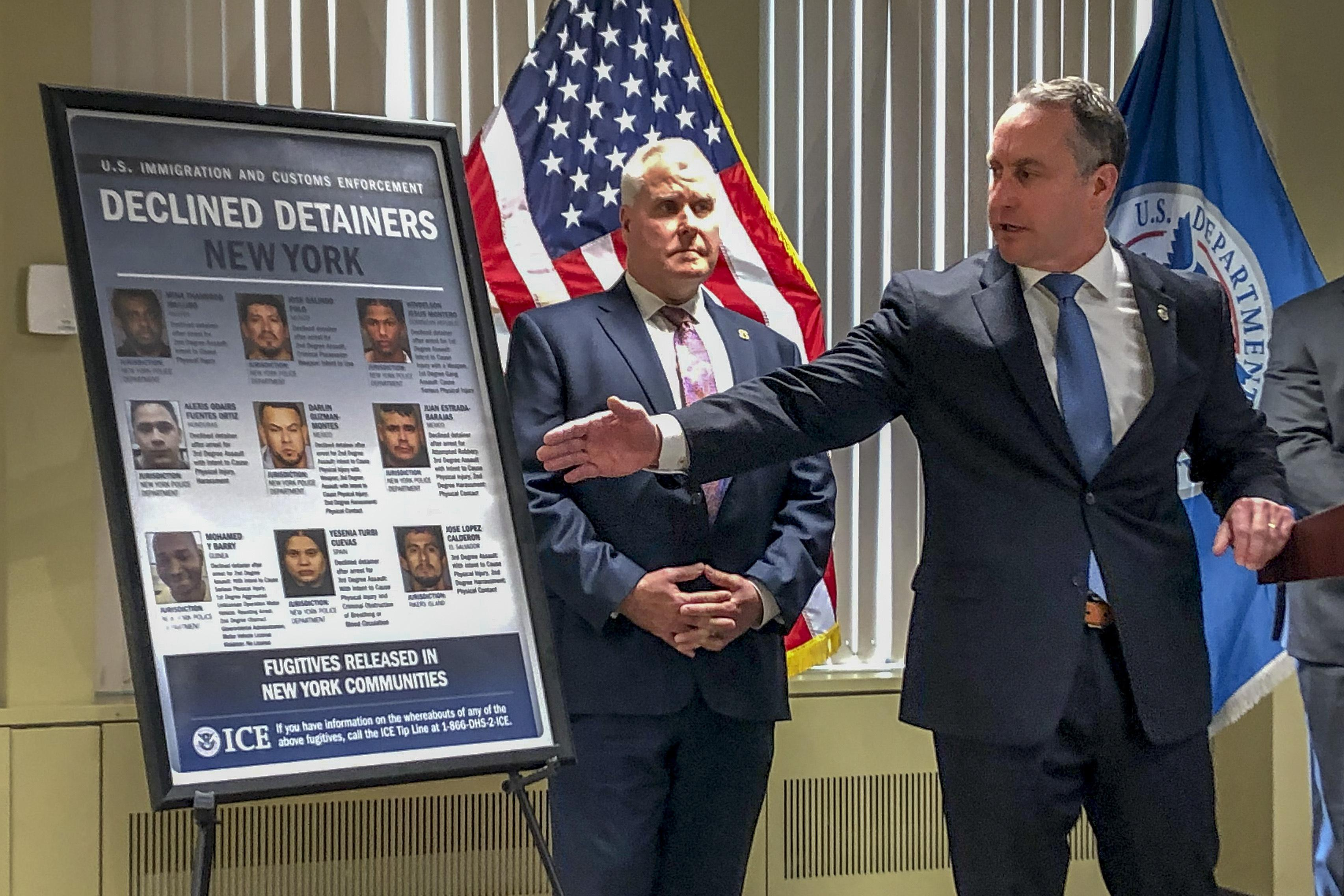 ICE fires off subpoenas in escalating battle over New York sanctuary p