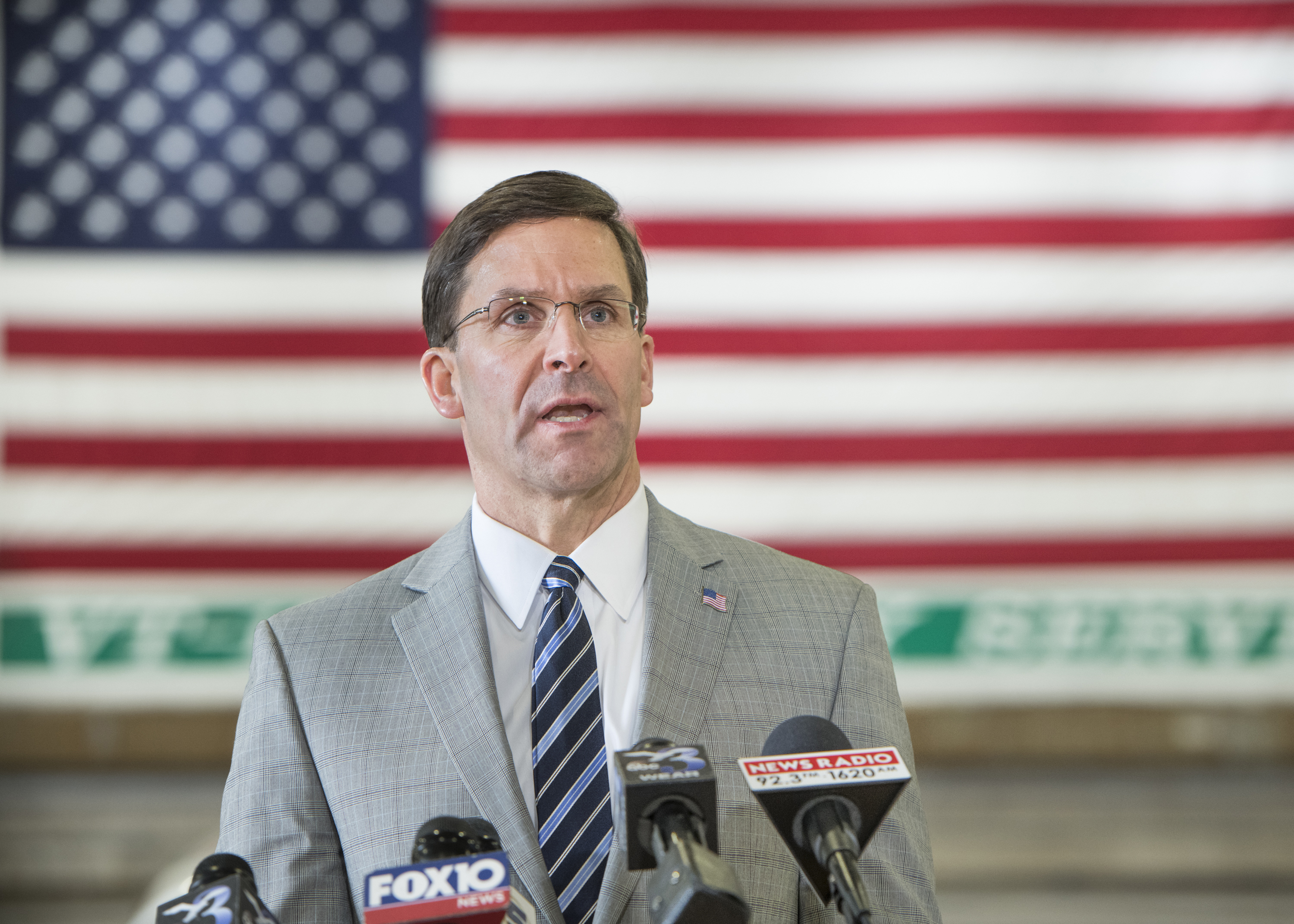 Pentagon chief Esper concerned about Chinese hacking, espionage