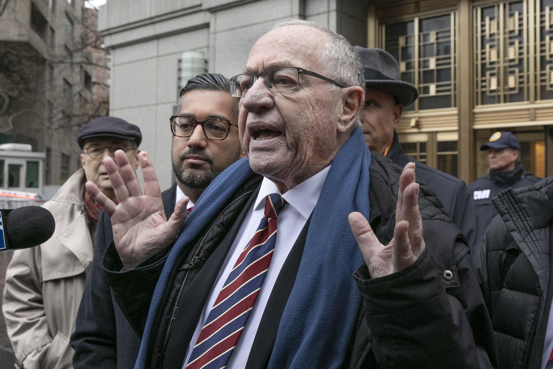 Alan Dershowitz: House managers' case falls short of impeachment standard even if true