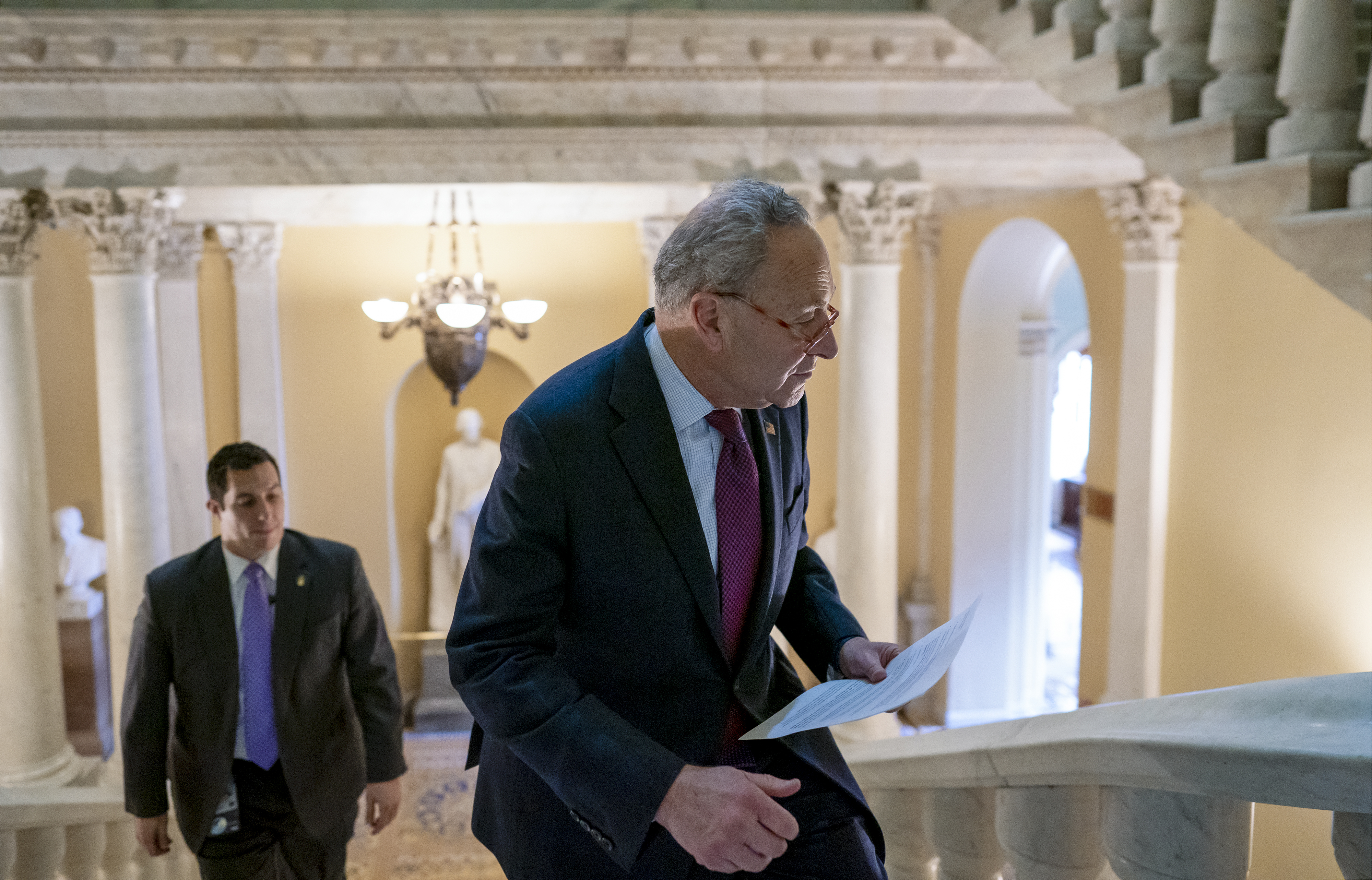 Schumer demands Bolton testify at impeachment trial: 'Who knows what he'll say under oath'