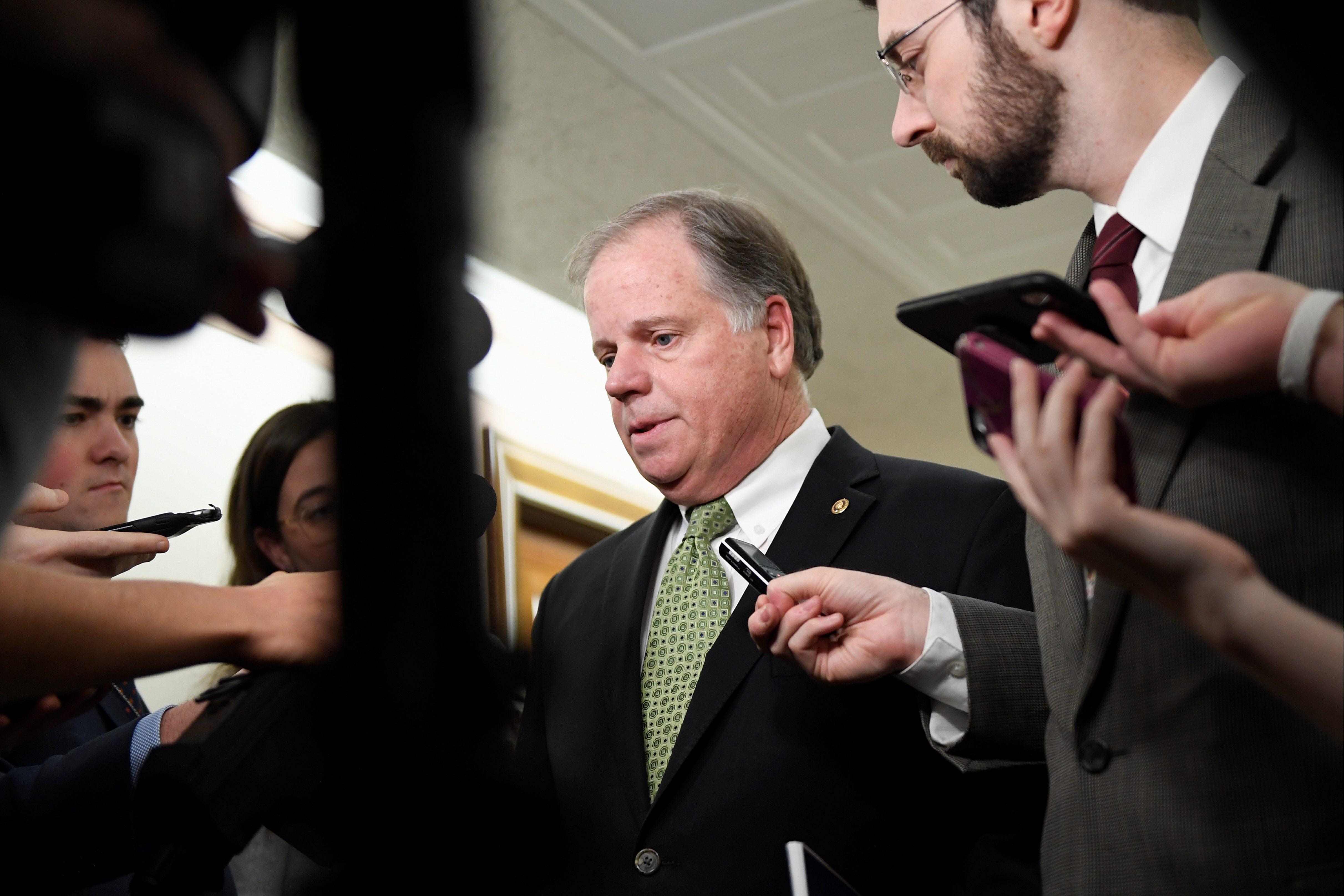 Alabama GOP ties Dough Jones to Democratic Party leadership with impea
