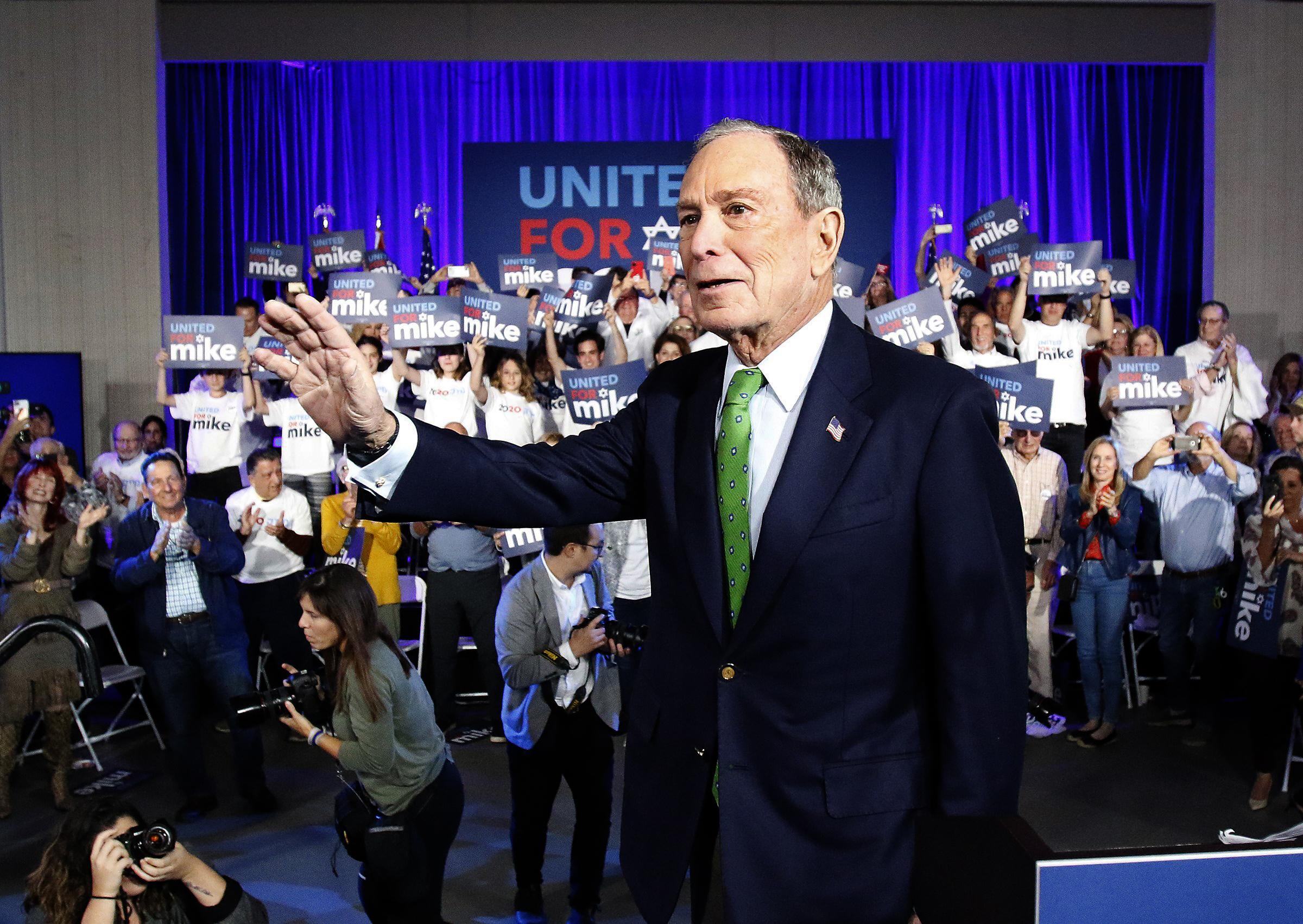 Michael Bloomberg endorses statehood for Puerto Rico