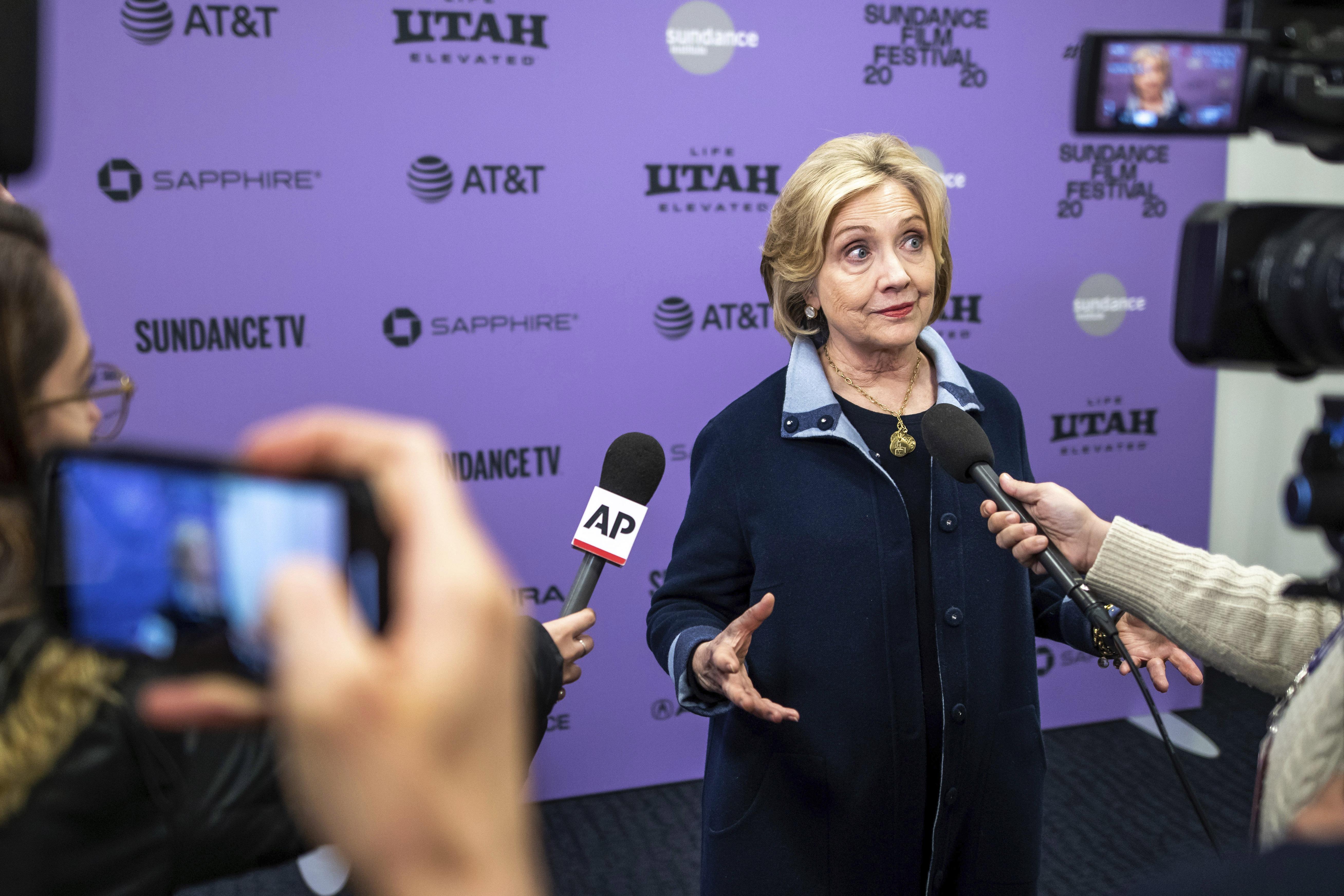 Hillary Clinton: 'I certainly feel the urge' to run against Trump again