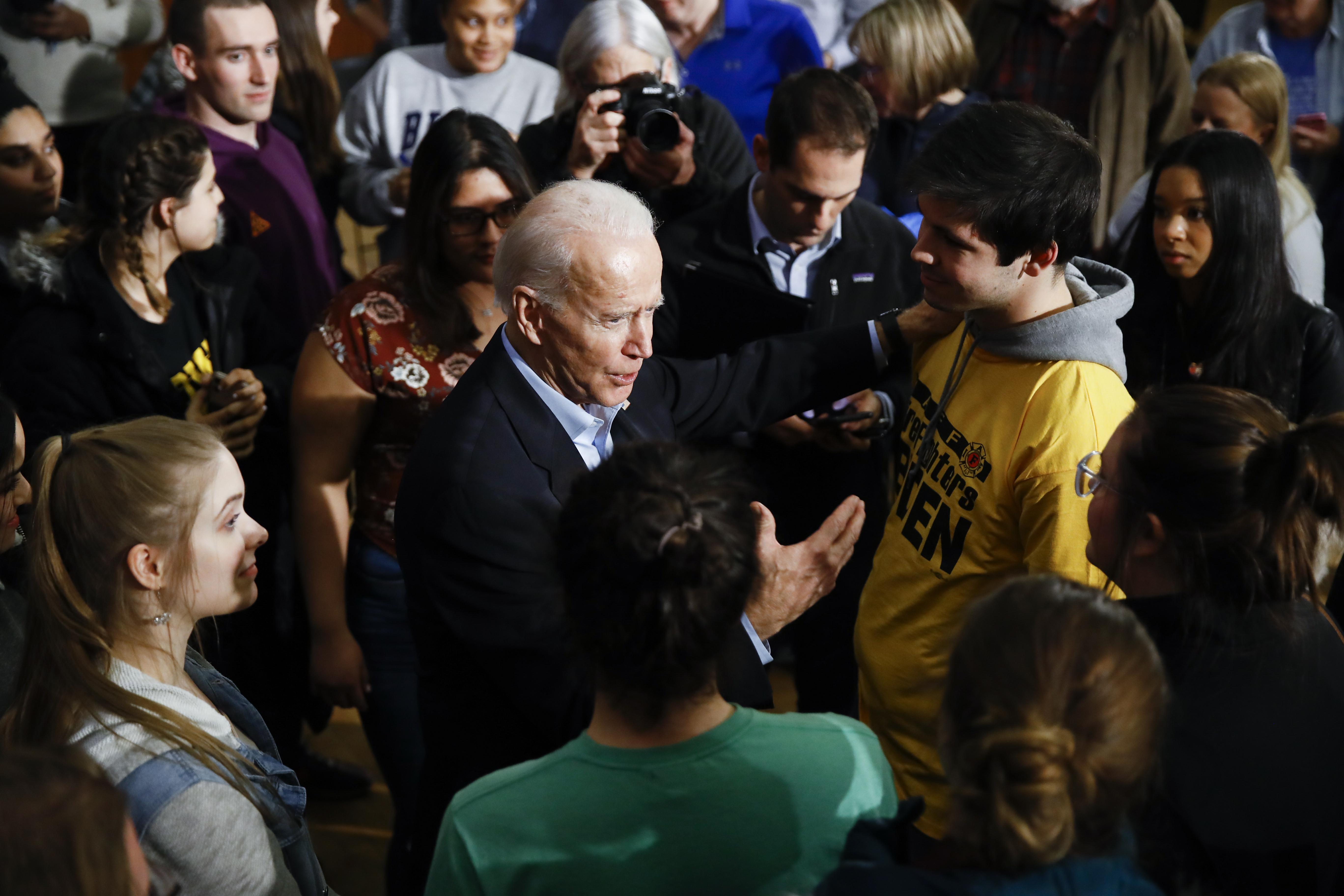 Joe Biden fires back at Joni Ernst, urges Iowa voters to send her a me
